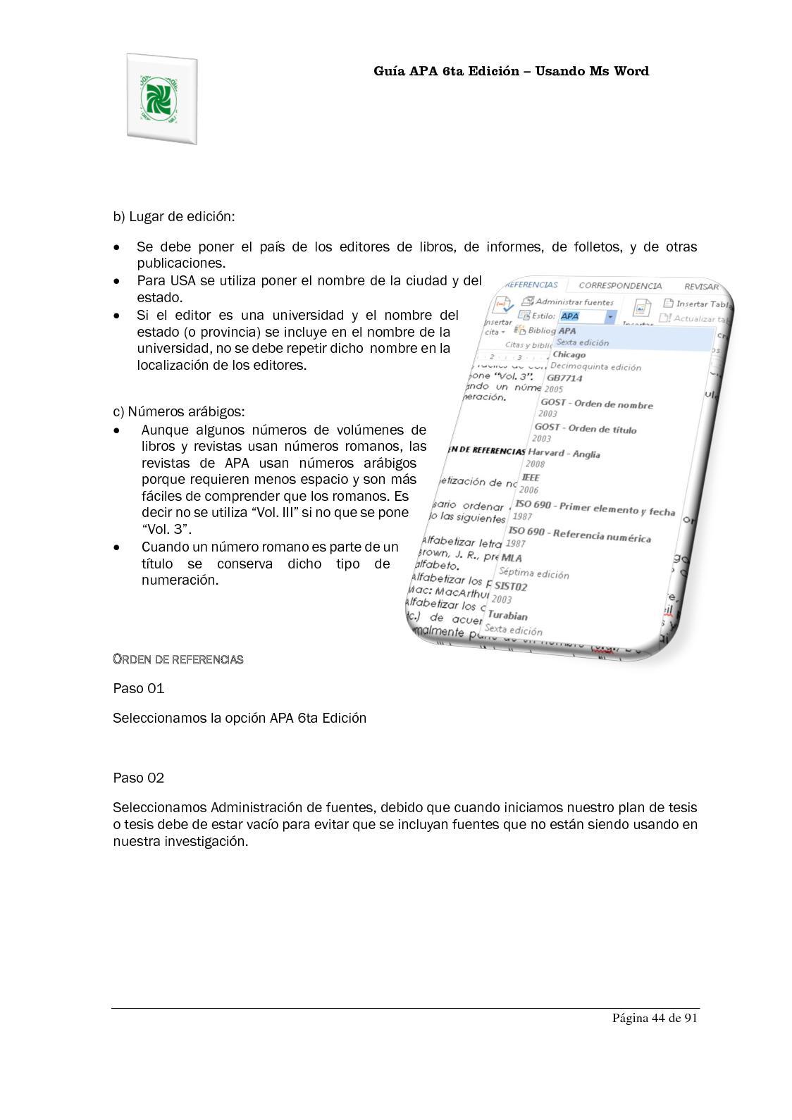 Atractivo Plantilla De La Página Principal De Apa Bandera - Ejemplo ...