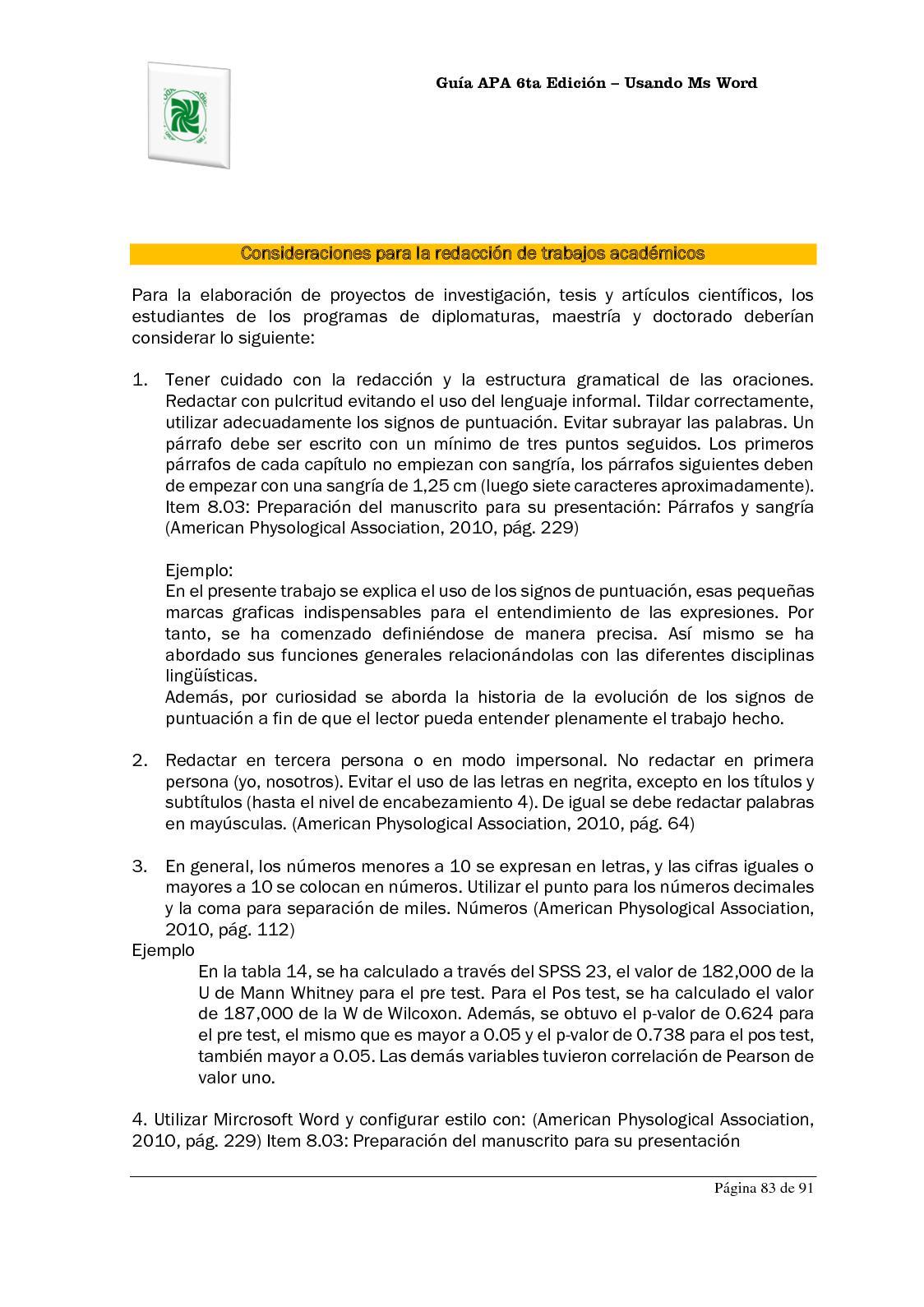 Famoso Plantilla De Informe De Estilo Apa Cresta - Ejemplo De ...