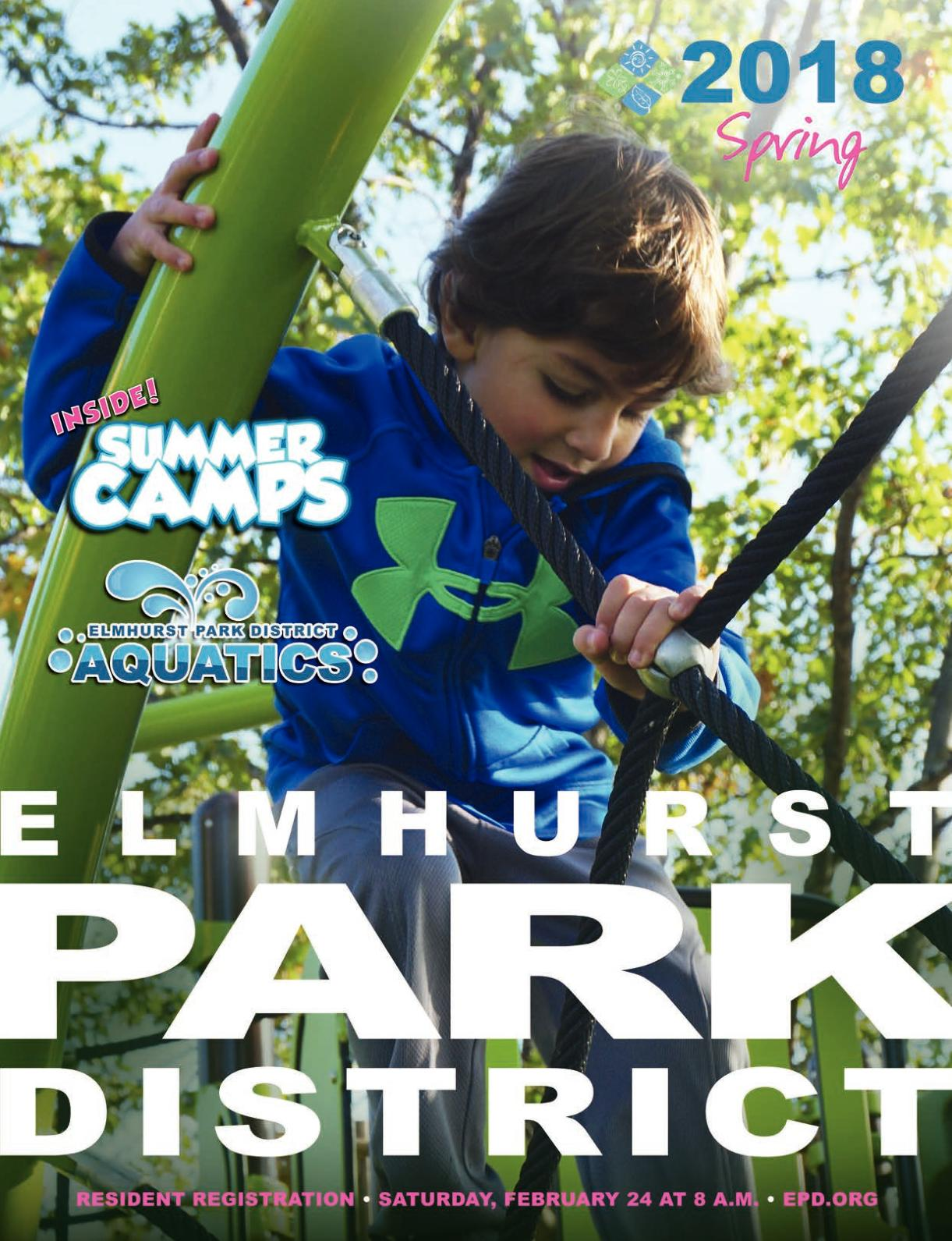 Calamo Elmhurst Park District Spring 2018 Brochure To Refreshment The Knot Head Part I Mastering Eldredge