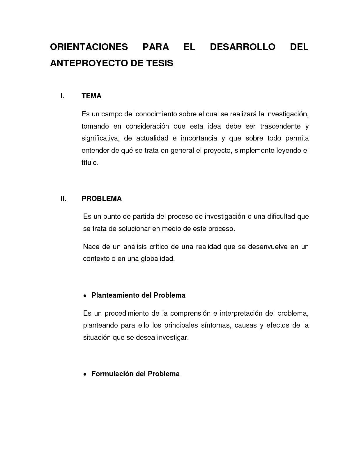 Estructura Del Anteproyecto 1