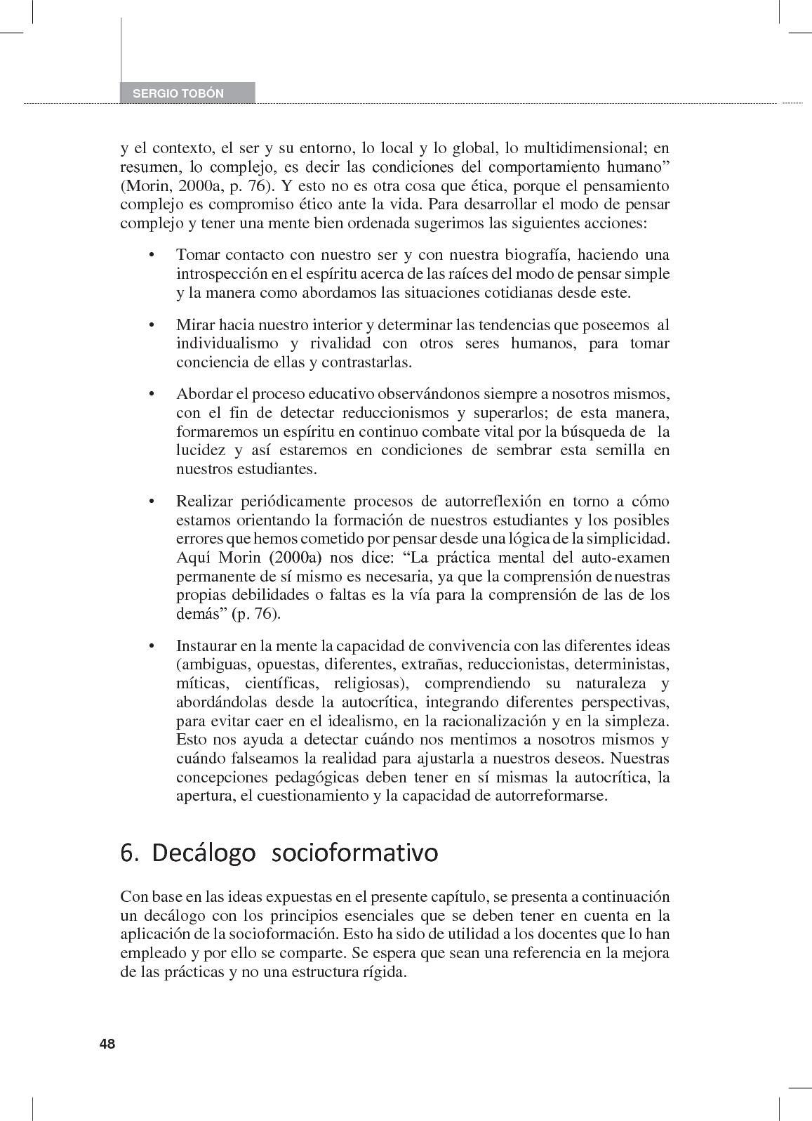Formación Integral Y Competencias; Tobón Tobón, Sergio - CALAMEO ...
