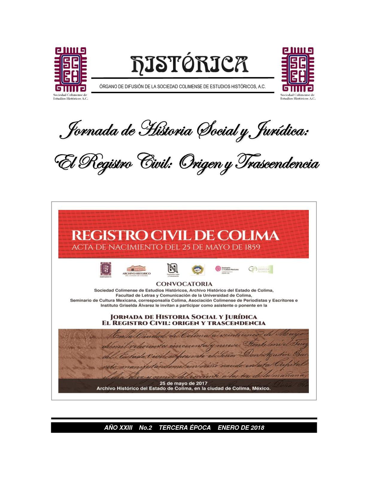 Calaméo - Histórica - No. 2 - Tercera Época