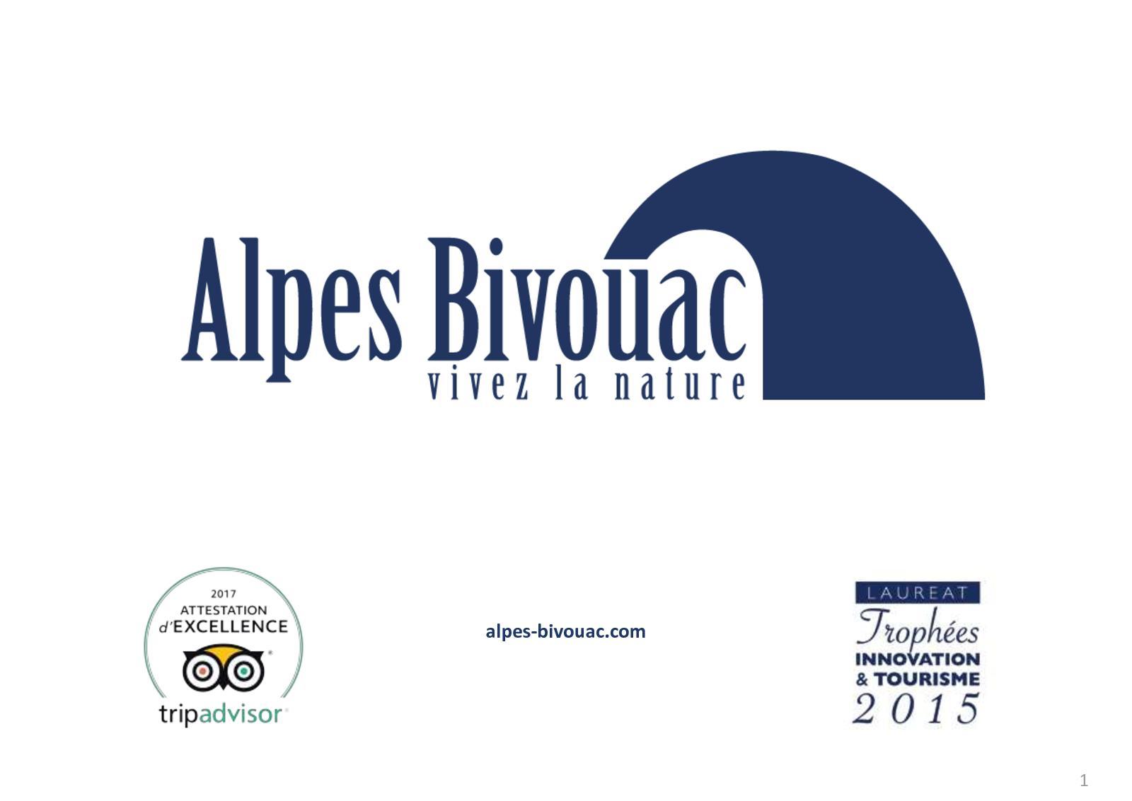 Votre Guide De Voyage ALPES BIVOUAC à Télécharger Et Lire