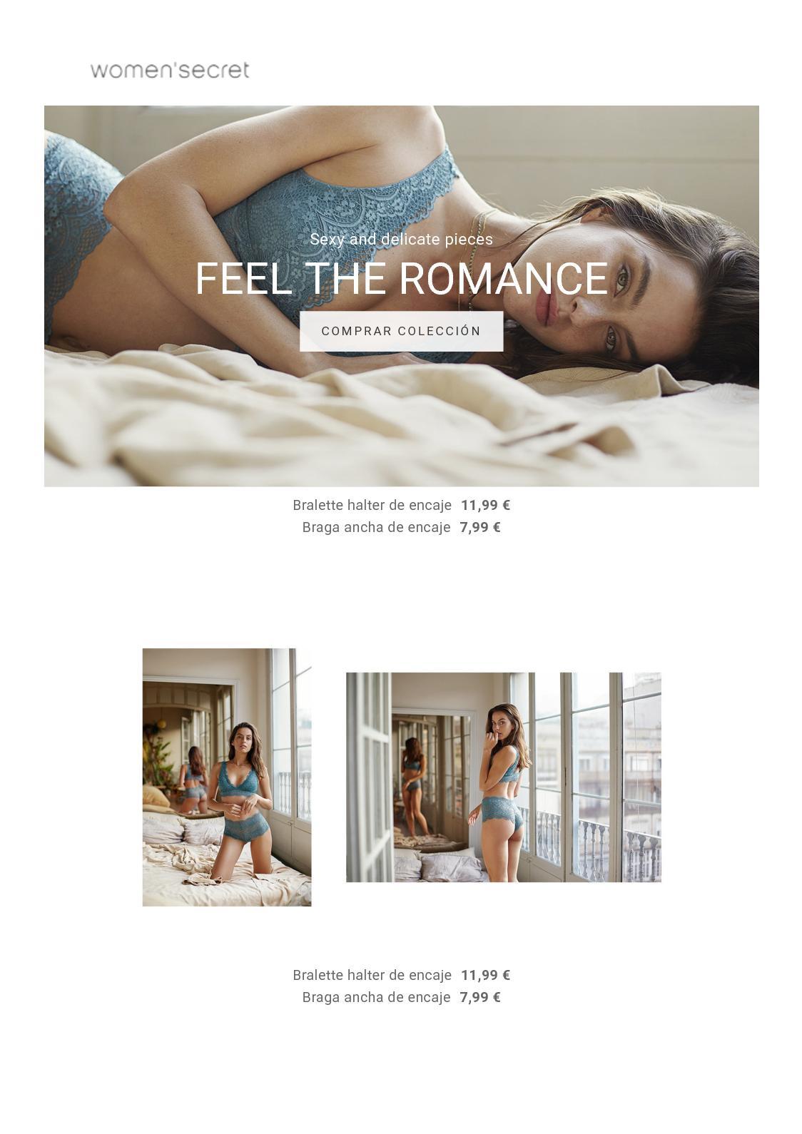 Women'Secret: Feel the Romance