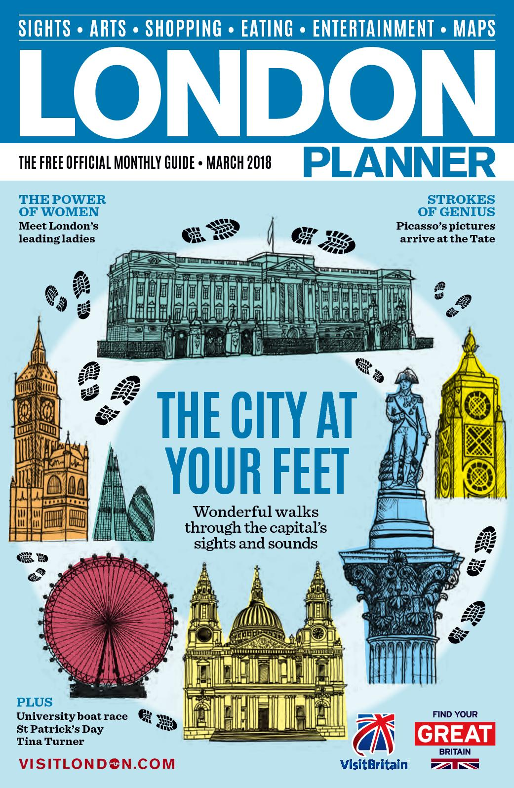 Calaméo - LONDON PLANNER MARCH 2018