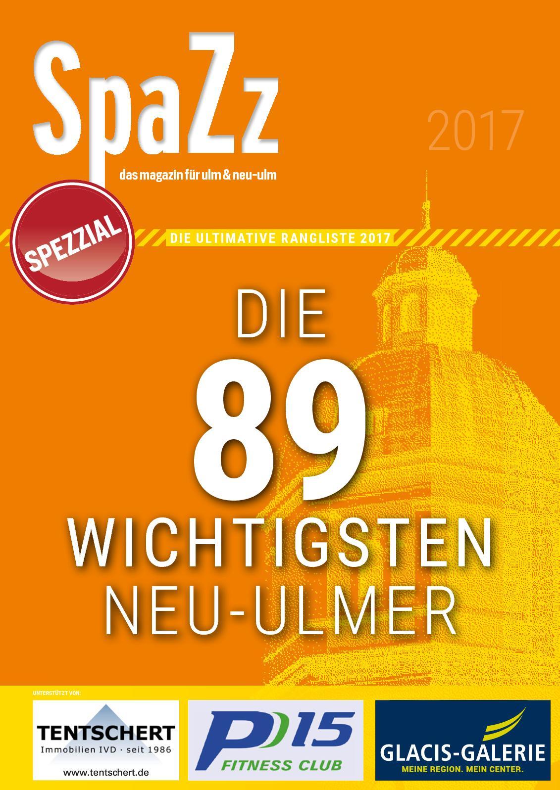 Calaméo - SpaZz SpeZzial: Die 89 wichtigsten Neu-Ulmer