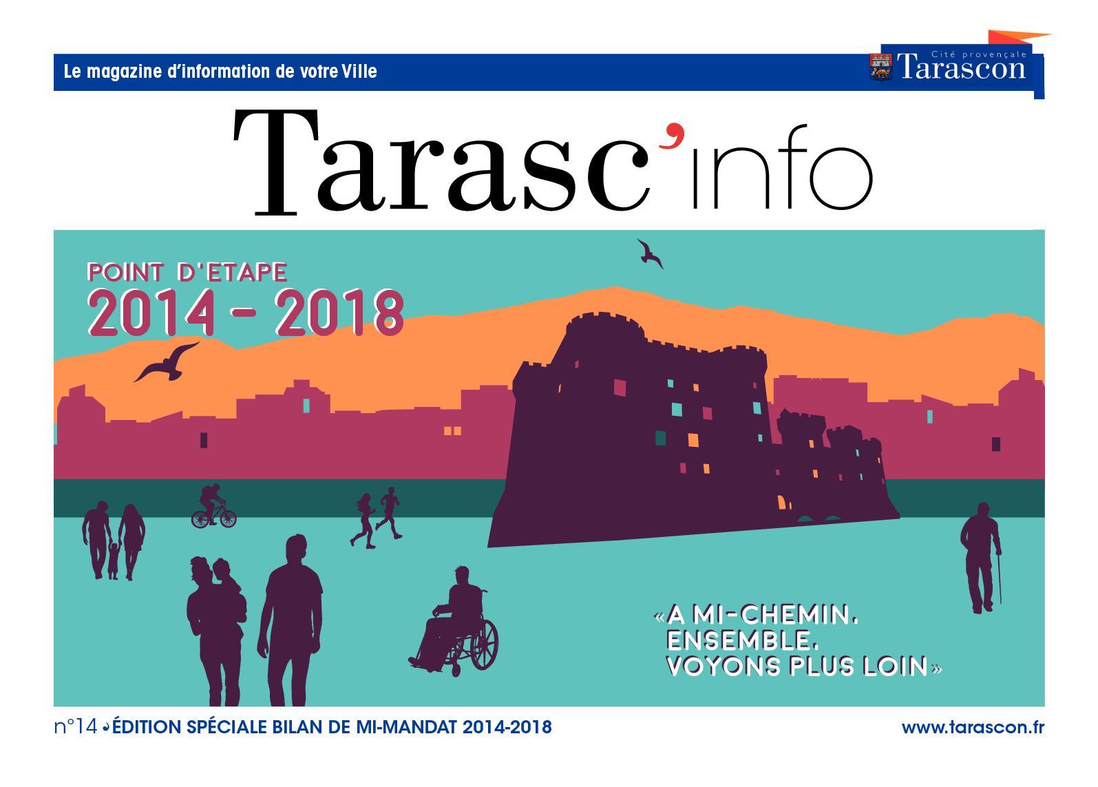 Tarasc'info N°14 - Bilan de mi-mandat 2014-2018