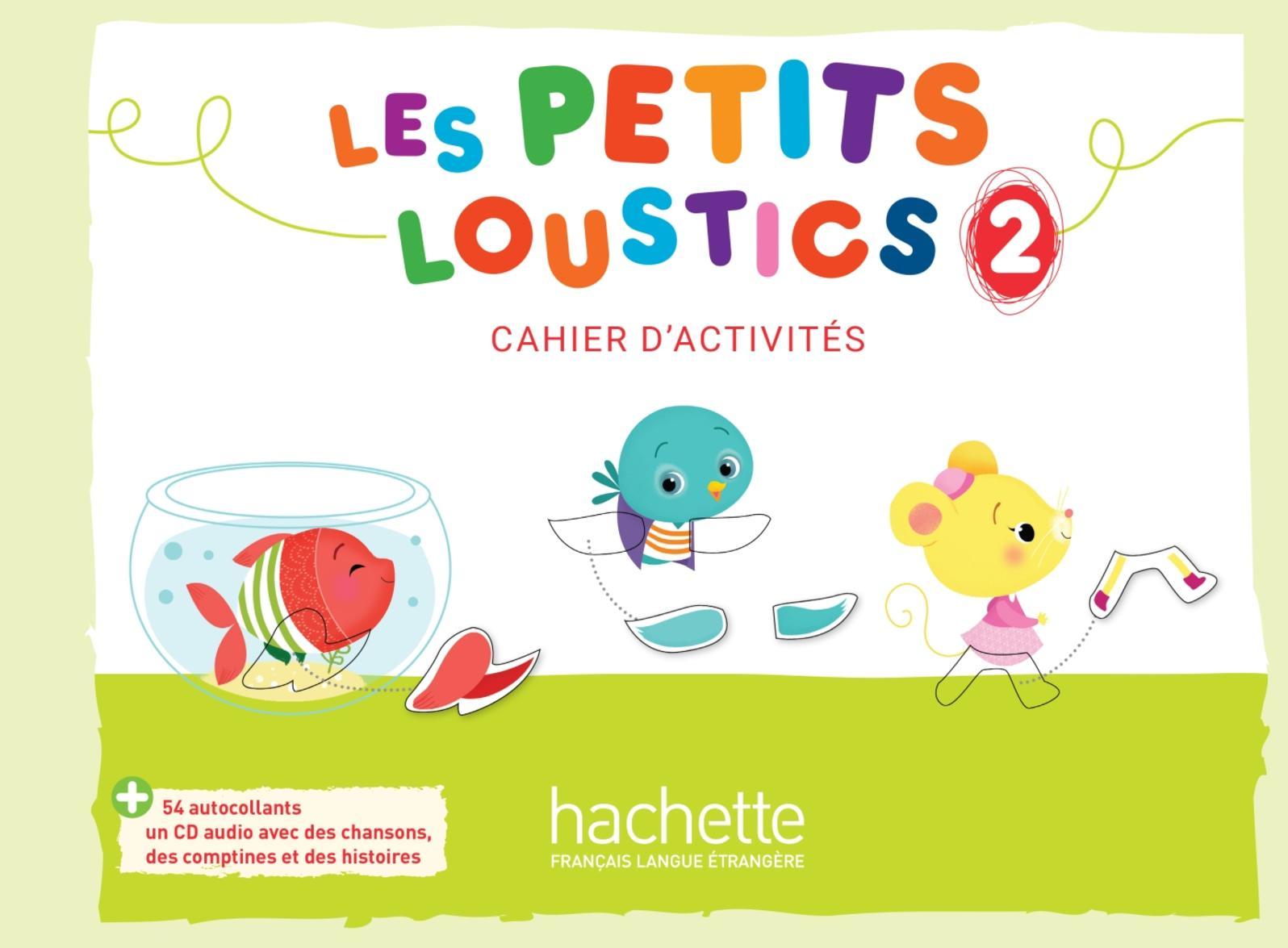 Les Petits Loustics 2 - Cahier d'activités - Extrait