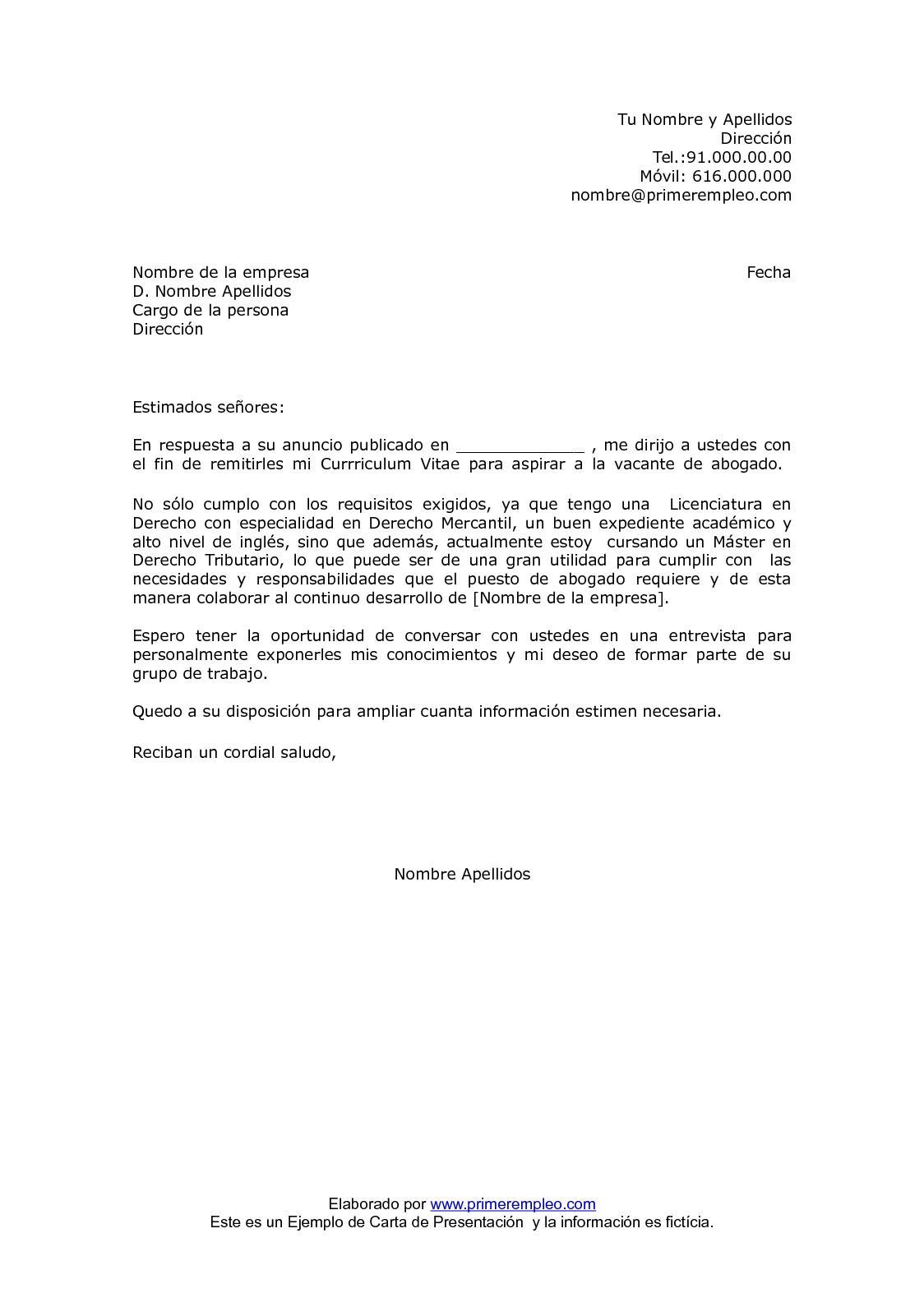 Calaméo - Carta De Presentacion Para Anuncio