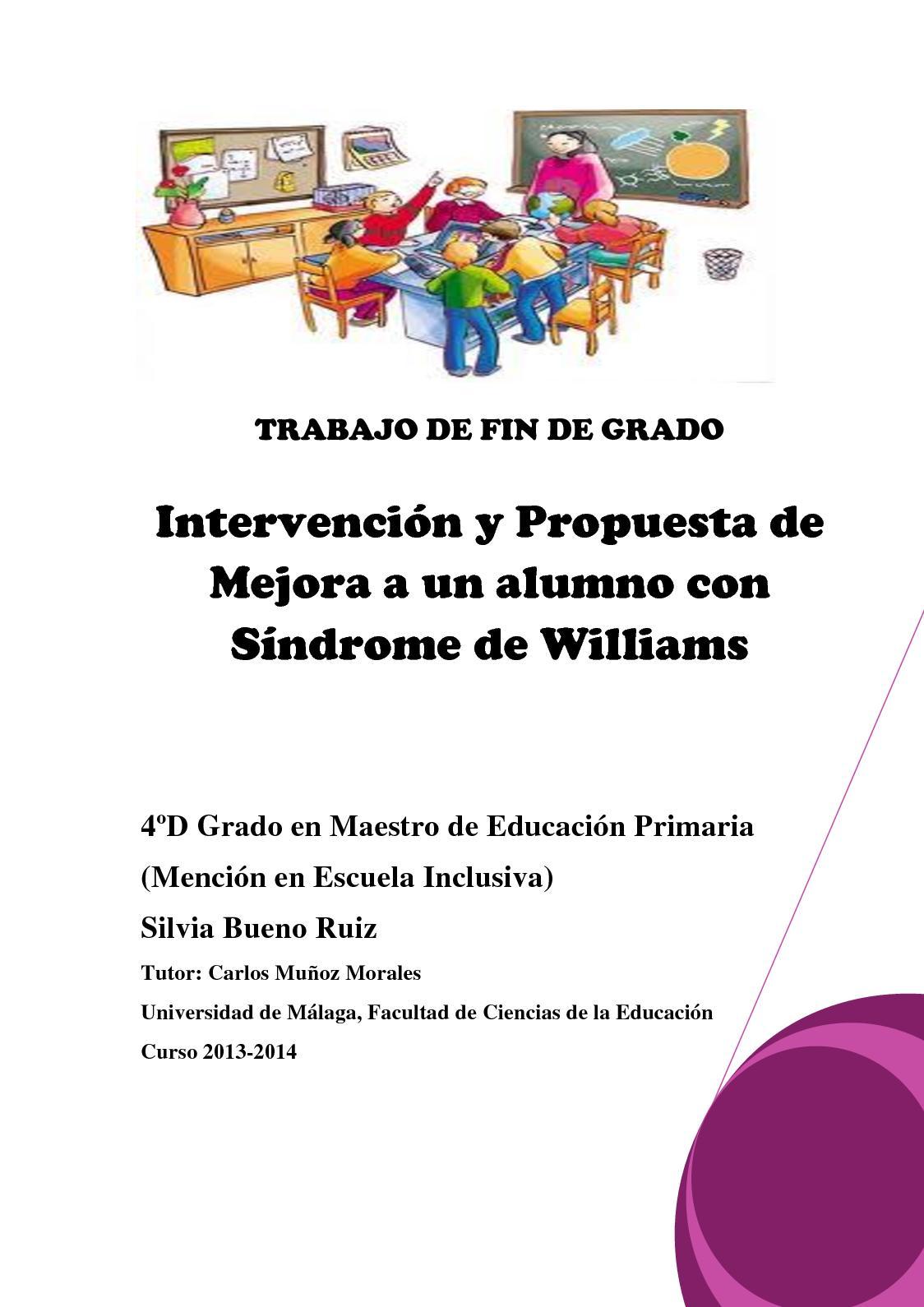 Intervención Y Propuesta De Mejora Escuela S Willians