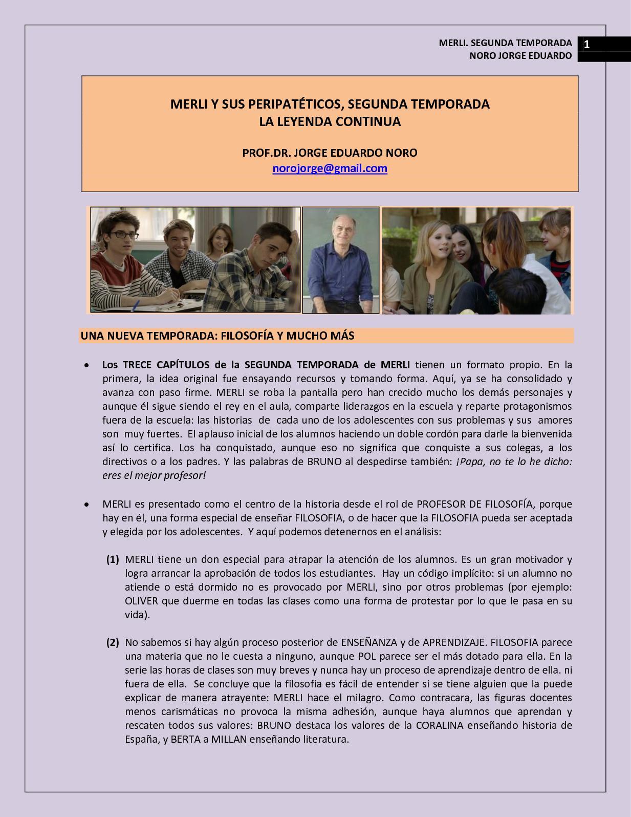 Calaméo - 242.MERLI Y SUS PERIPATETICOS + LA LEYENDA CONTINUA