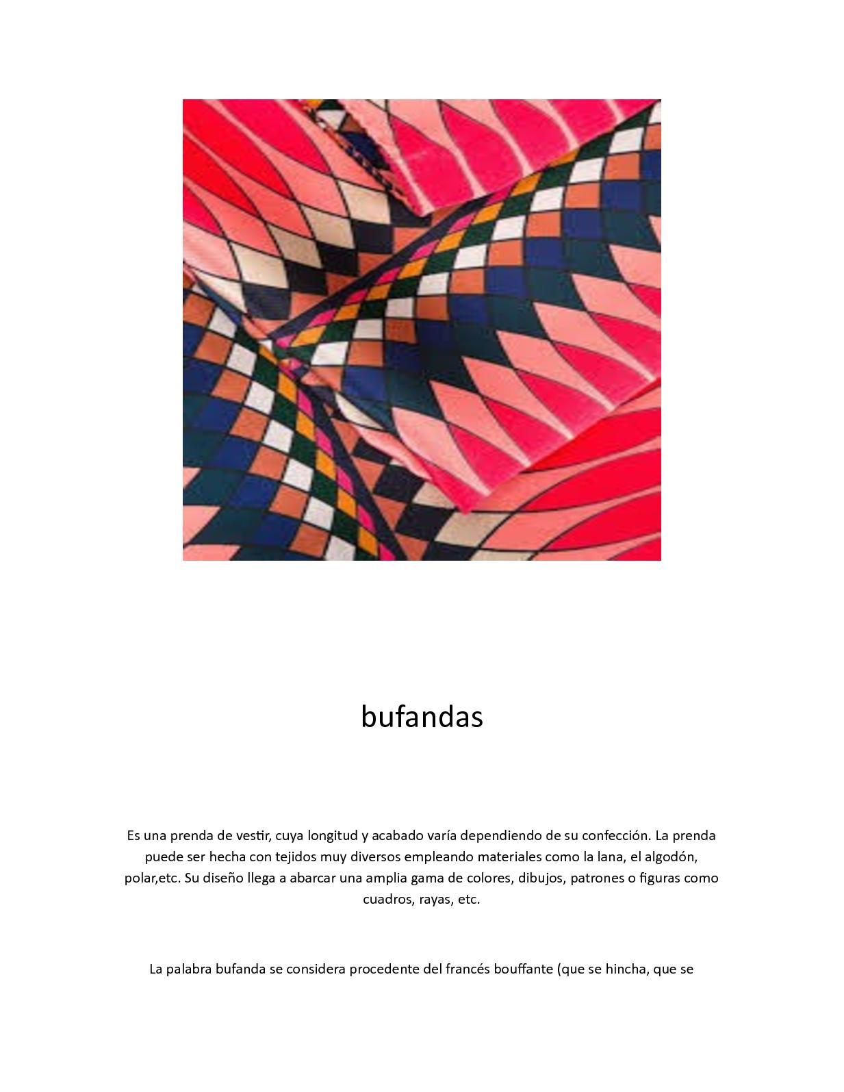 Calaméo - bufandas