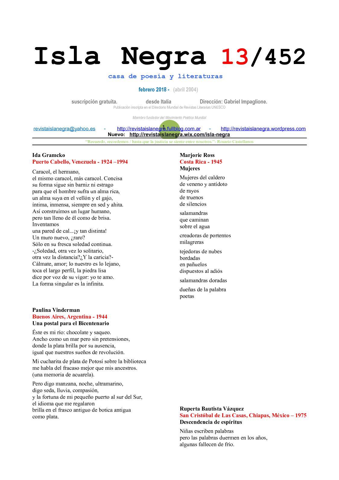 Calaméo - Isla Negra 452 + Navegaciones125