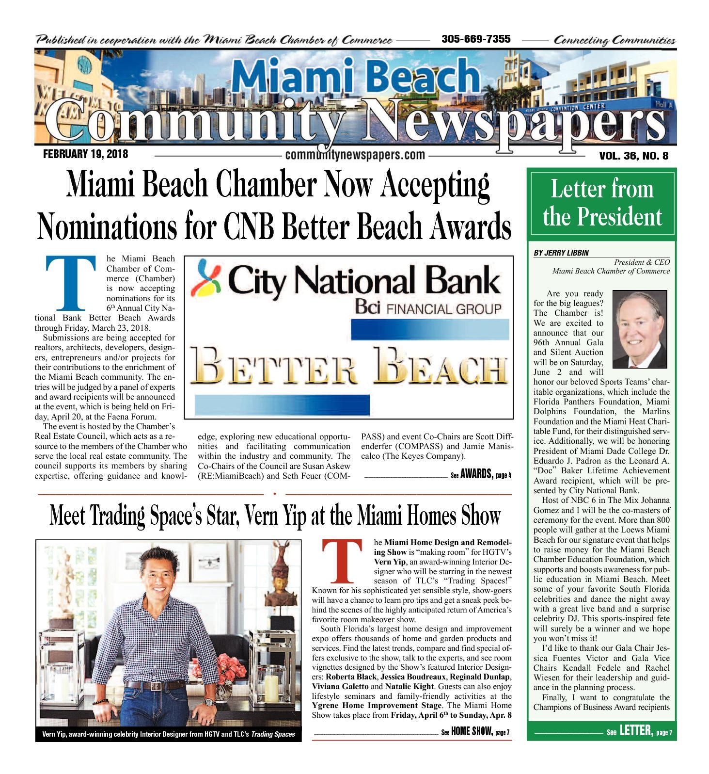 Calaméo Miami Beach News 2 19 2018
