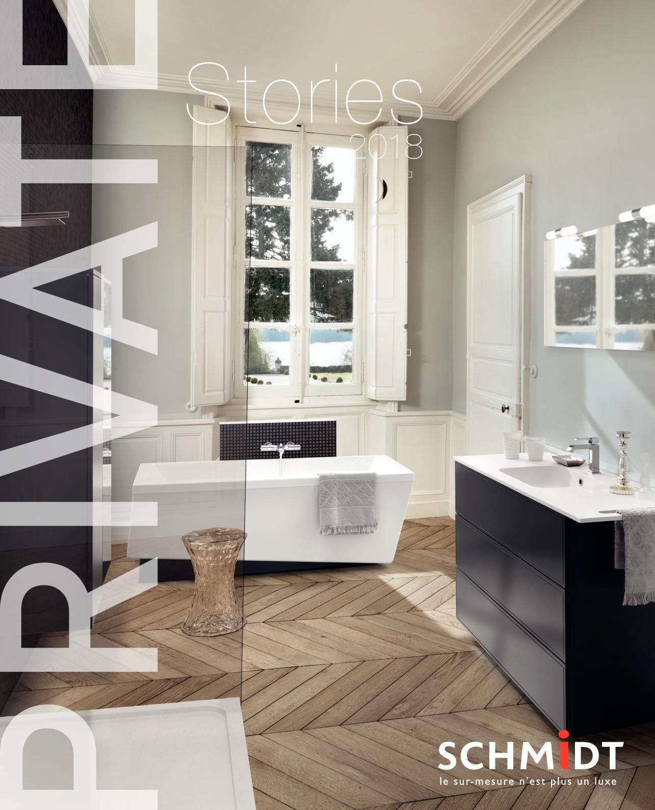 Calam o catalogue salle de bains schmidt 2018 - Meubles salle de bain schmidt ...