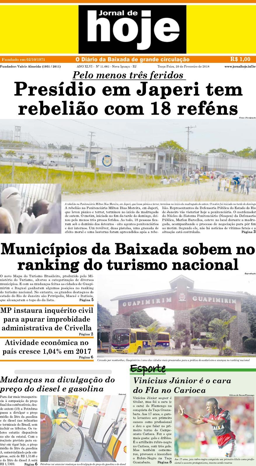 Jornal De Hoje 200218