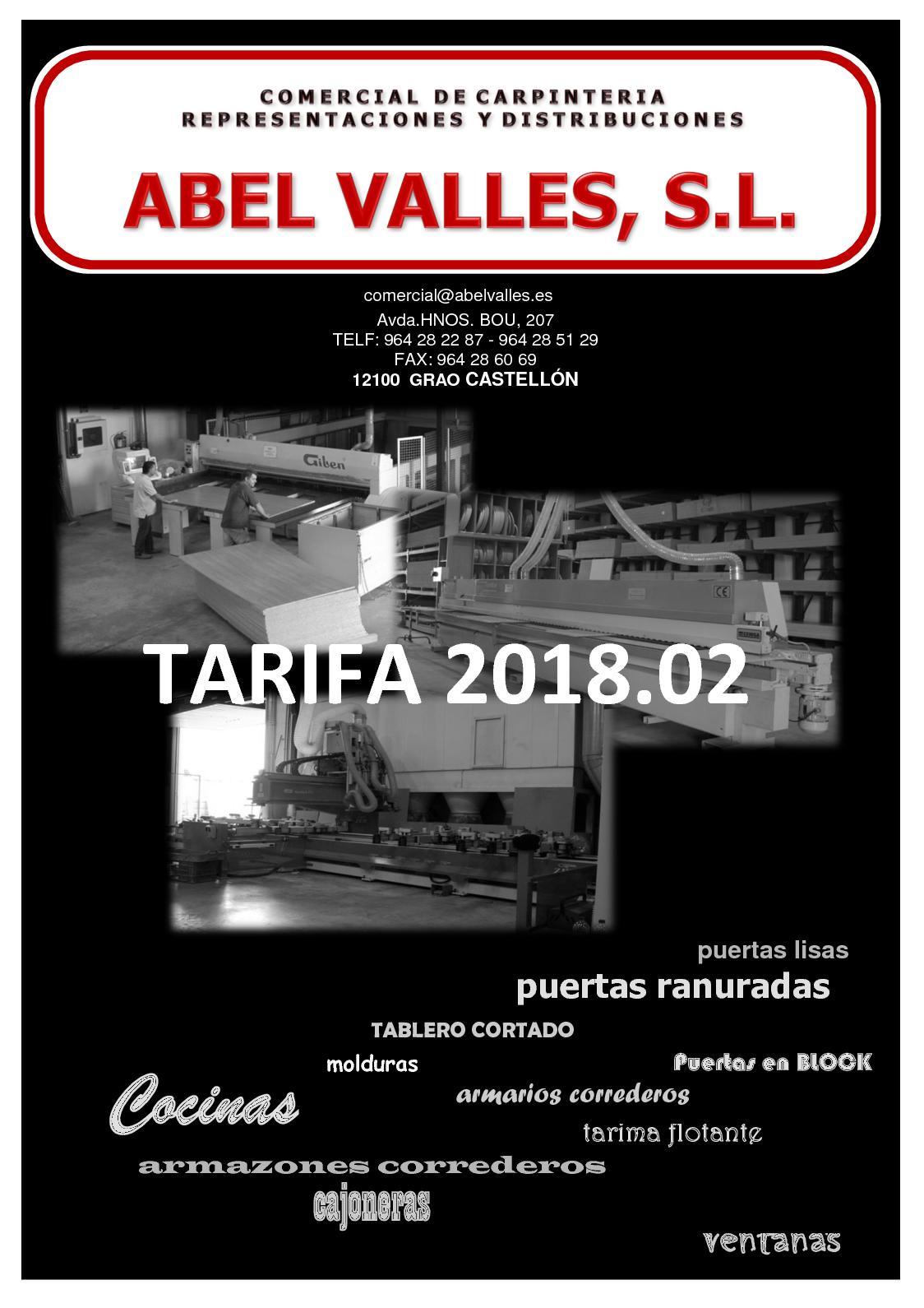 Calaméo - Tarifa Febrero 2018