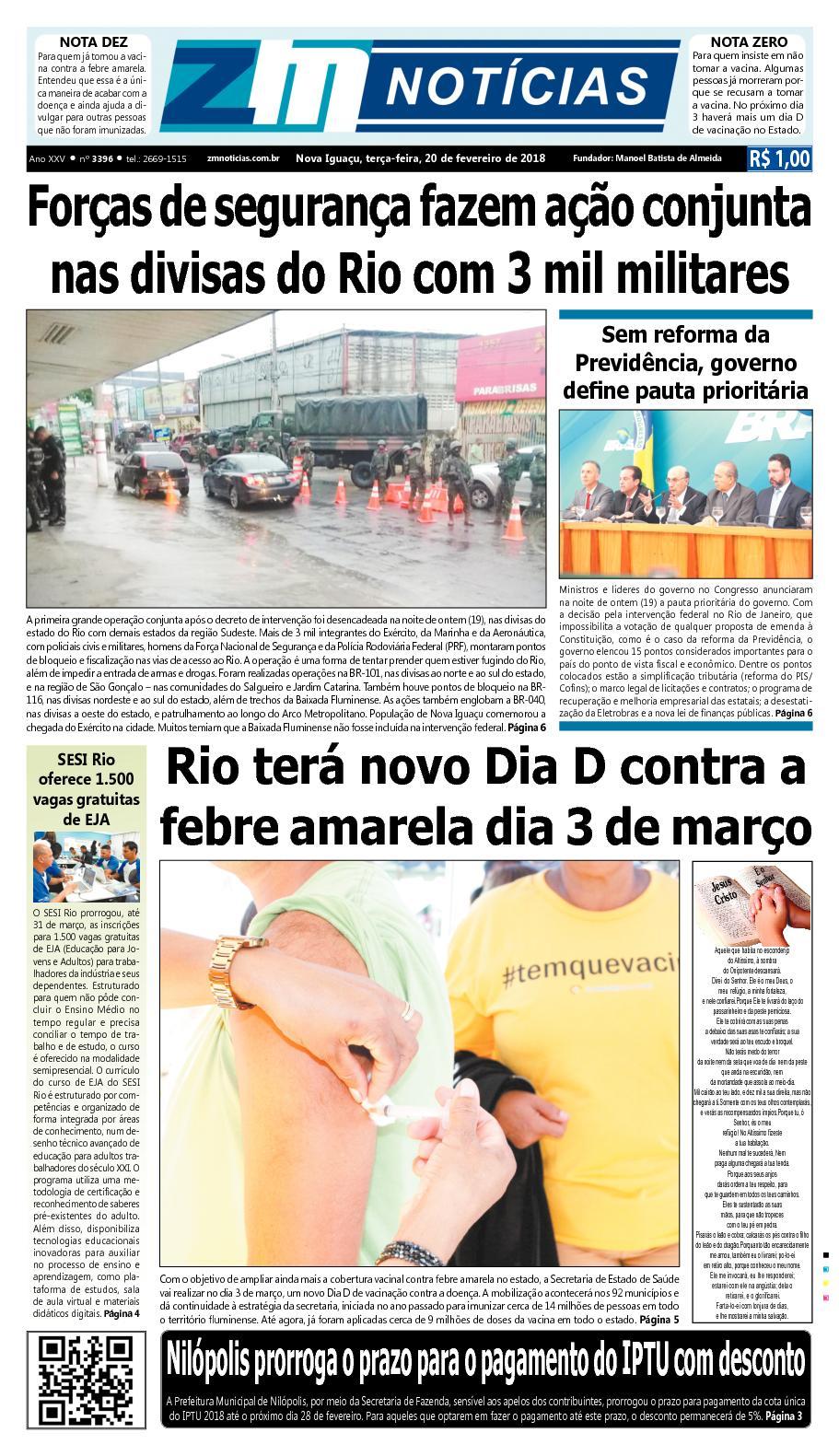 ZM Noticias - Edição 200218