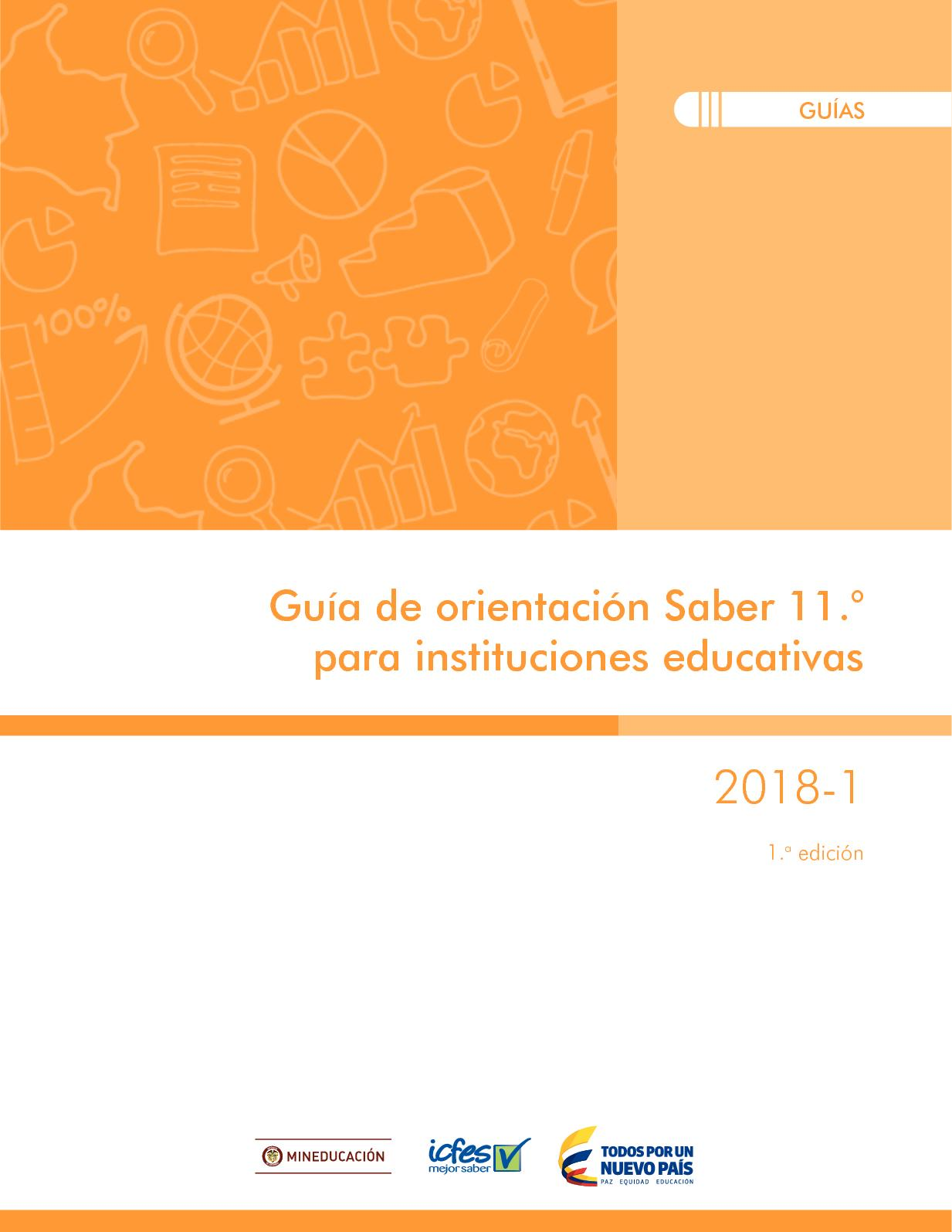 Guia De Orientacion Saber 11 Para Instituciones Educativas 2018 1
