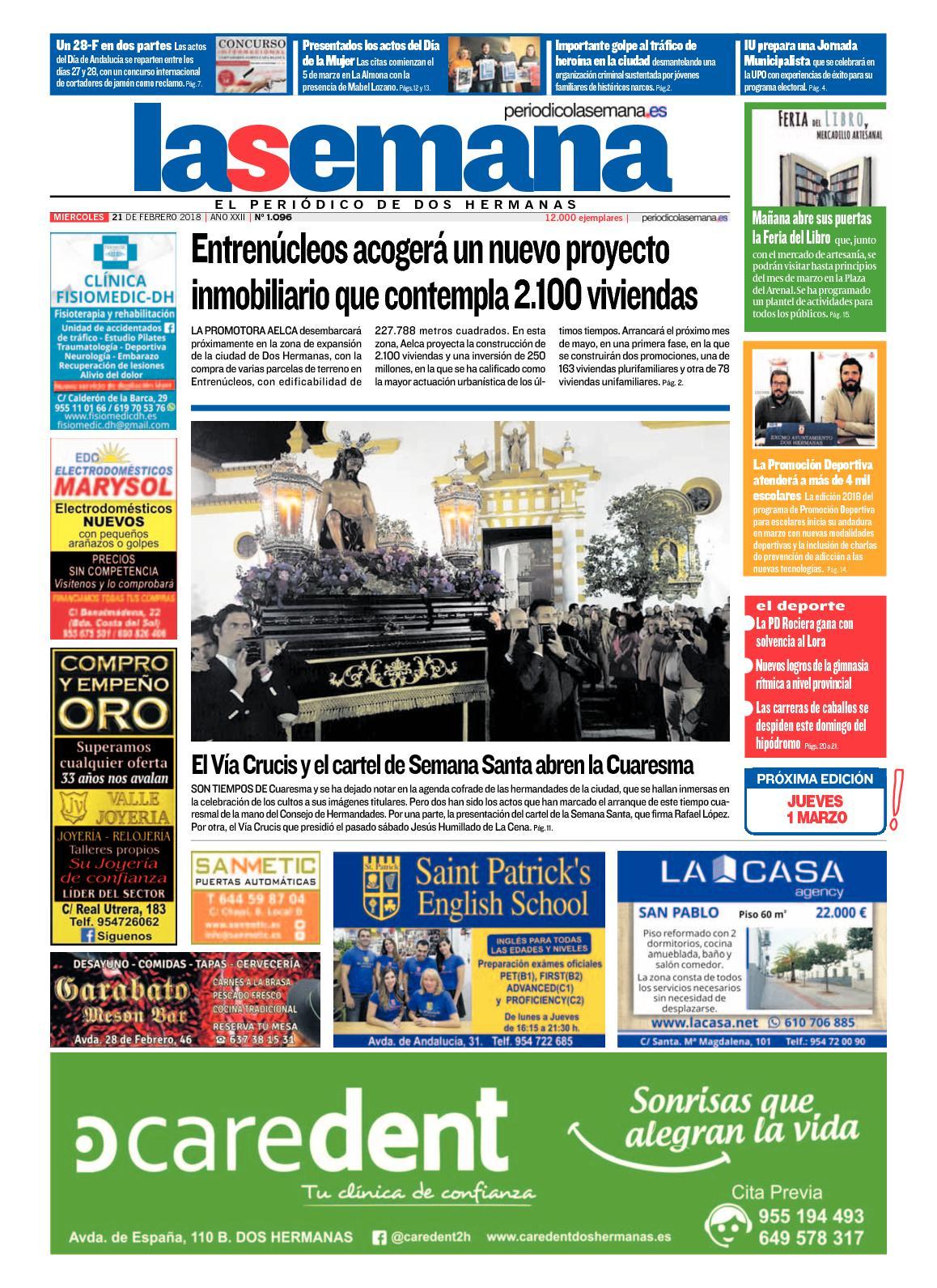 Calaméo - Periodico La Semana 1096