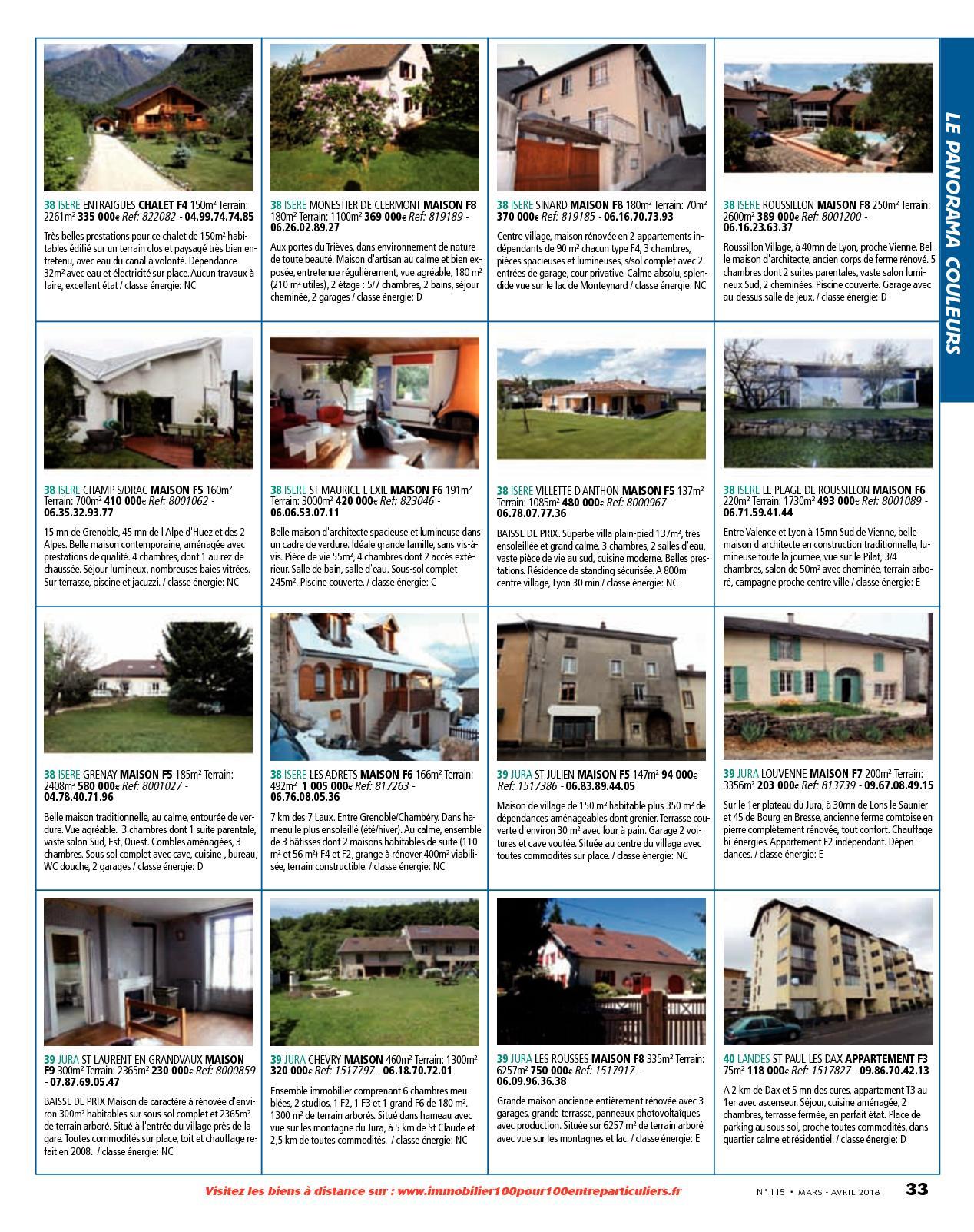 Accessoires Salle De Bain Inox Castorama ~ L Immobilier 100 Entre Particuliers Appelimmo N 115 Mars