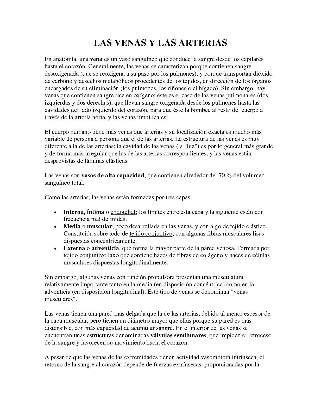 Calaméo - Las Venas Y Las Arterias