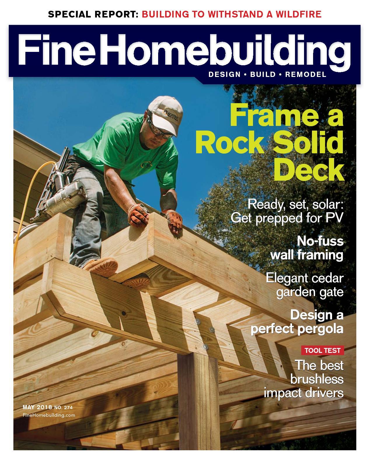 Fine Homebuilding 274 Sample