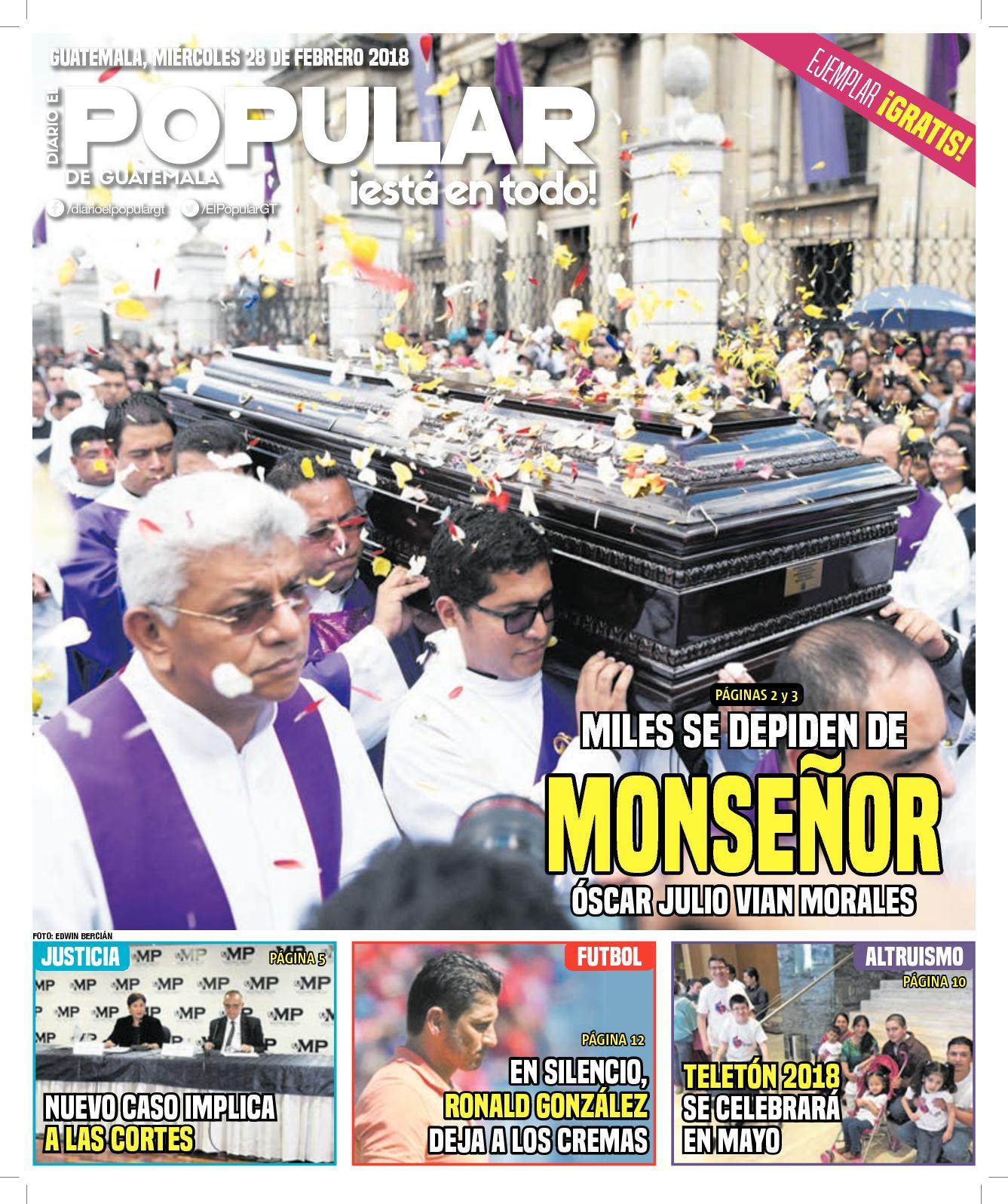 EL POPULAR GUATEMALA 28022018
