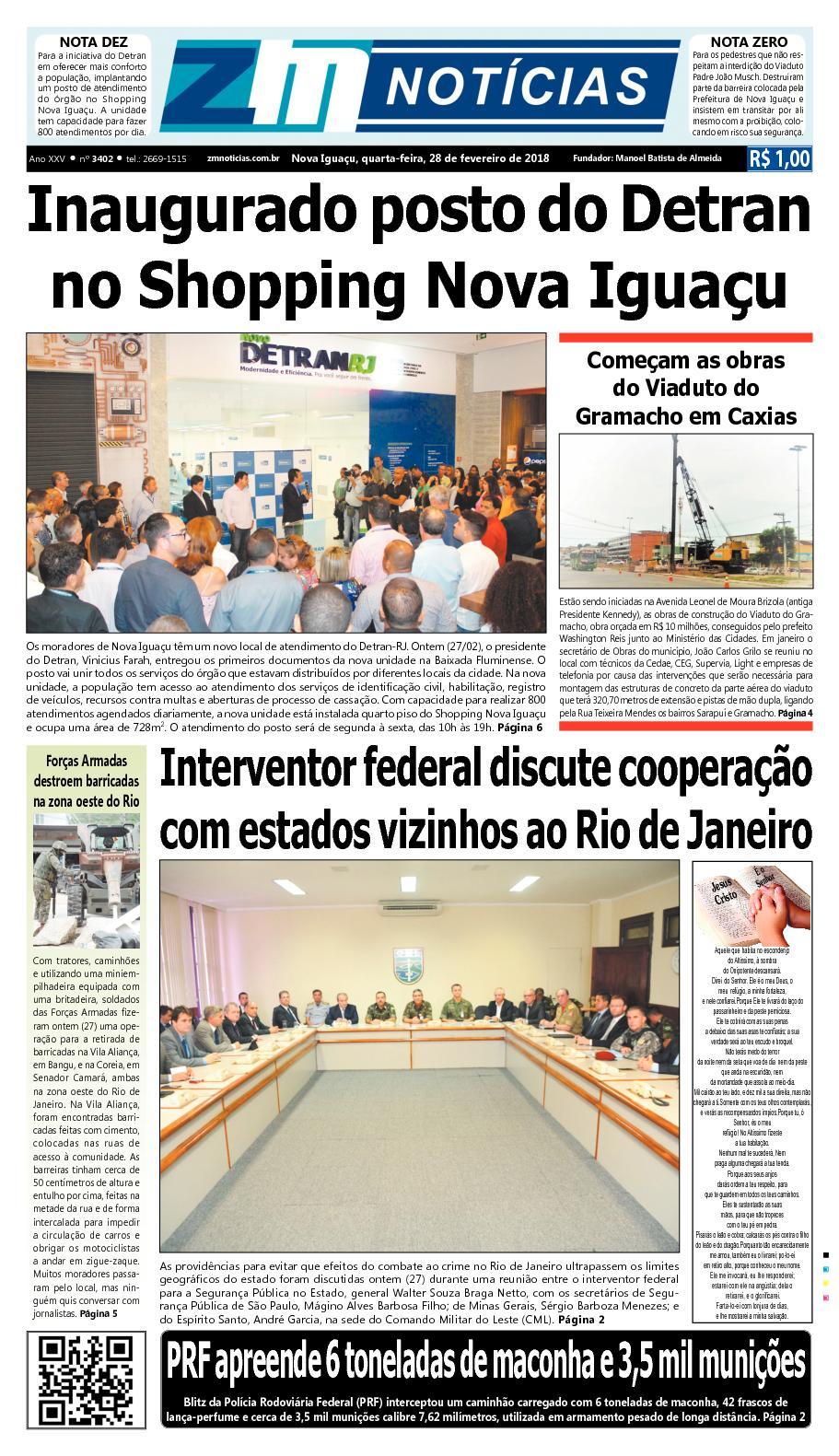 ZM Noticias - Edição 280218