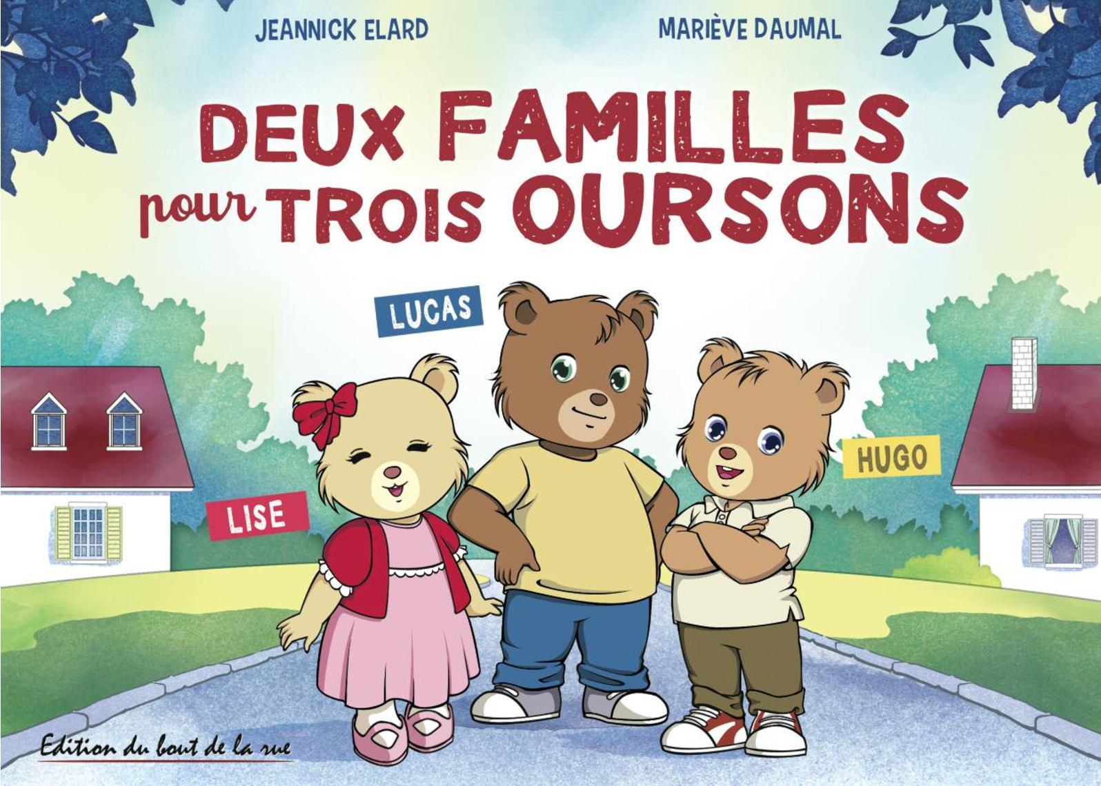 Deux familles pour trois oursons