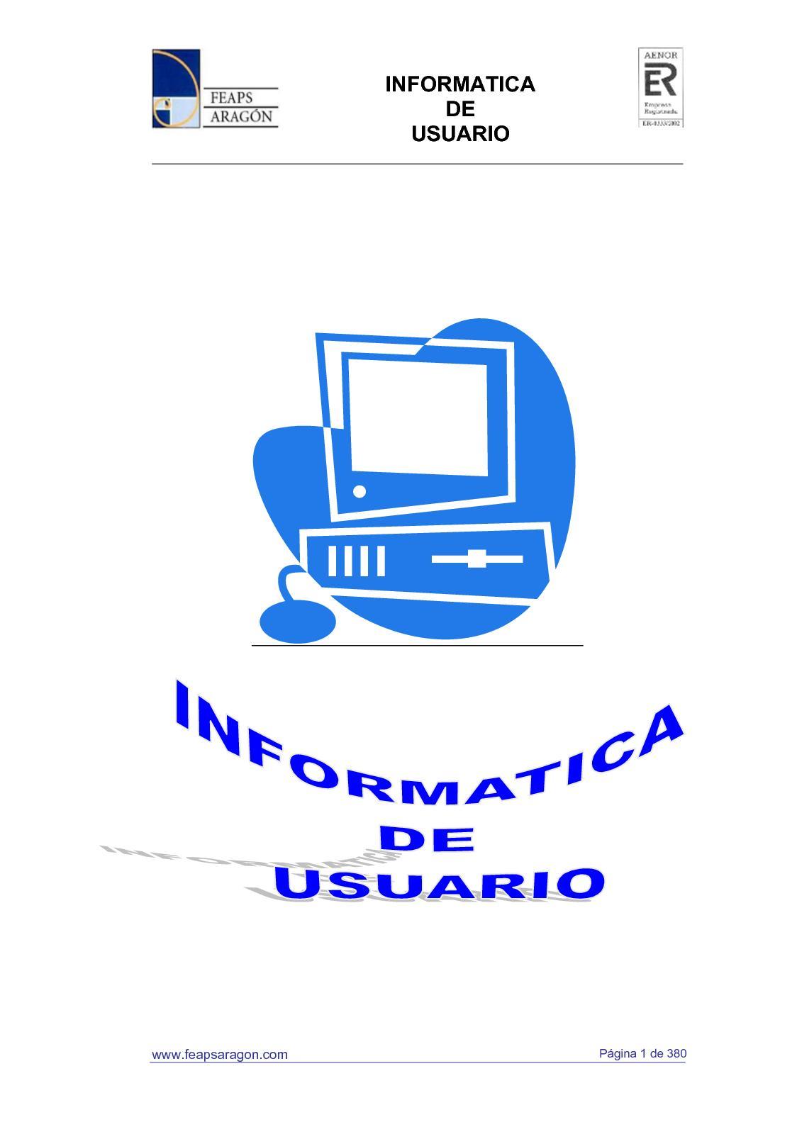 Calaméo - Iniciacion A La Informatica Y Alfabetización Digital ...