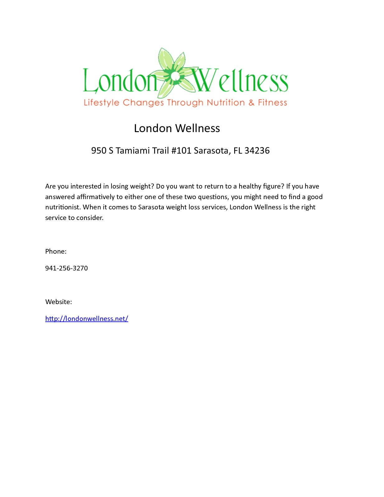 Calameo London Wellness