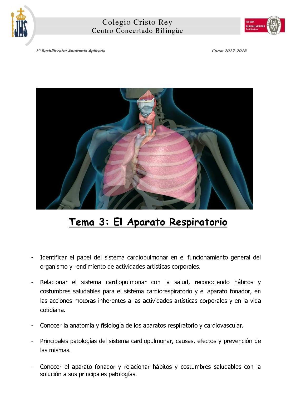 Calaméo - Tema 3 El Aparato Respiratorio