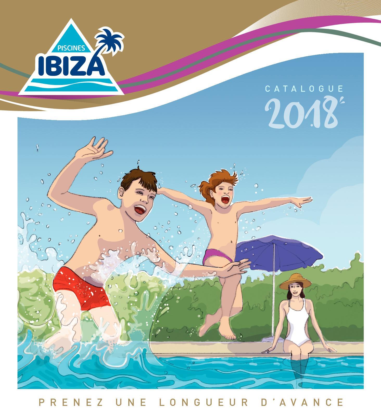 Calameo Piscines Ibiza Catalogue Produits 2018