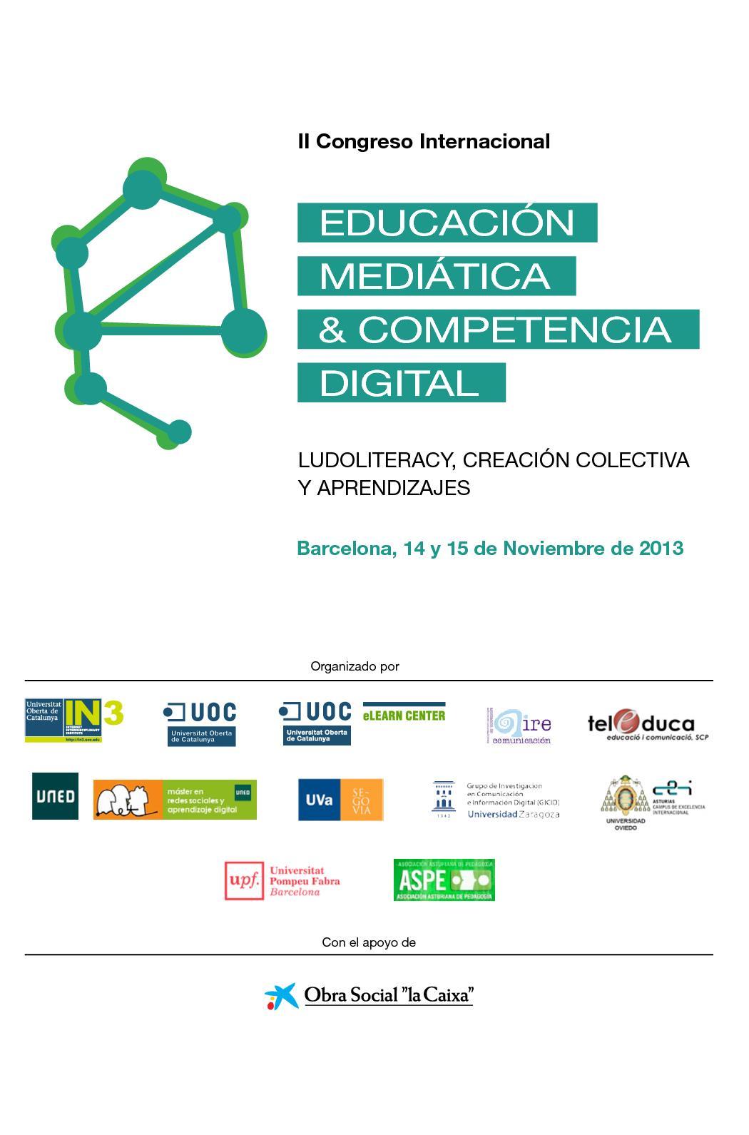 Calaméo - Educacion Mediatica Competencia Digital
