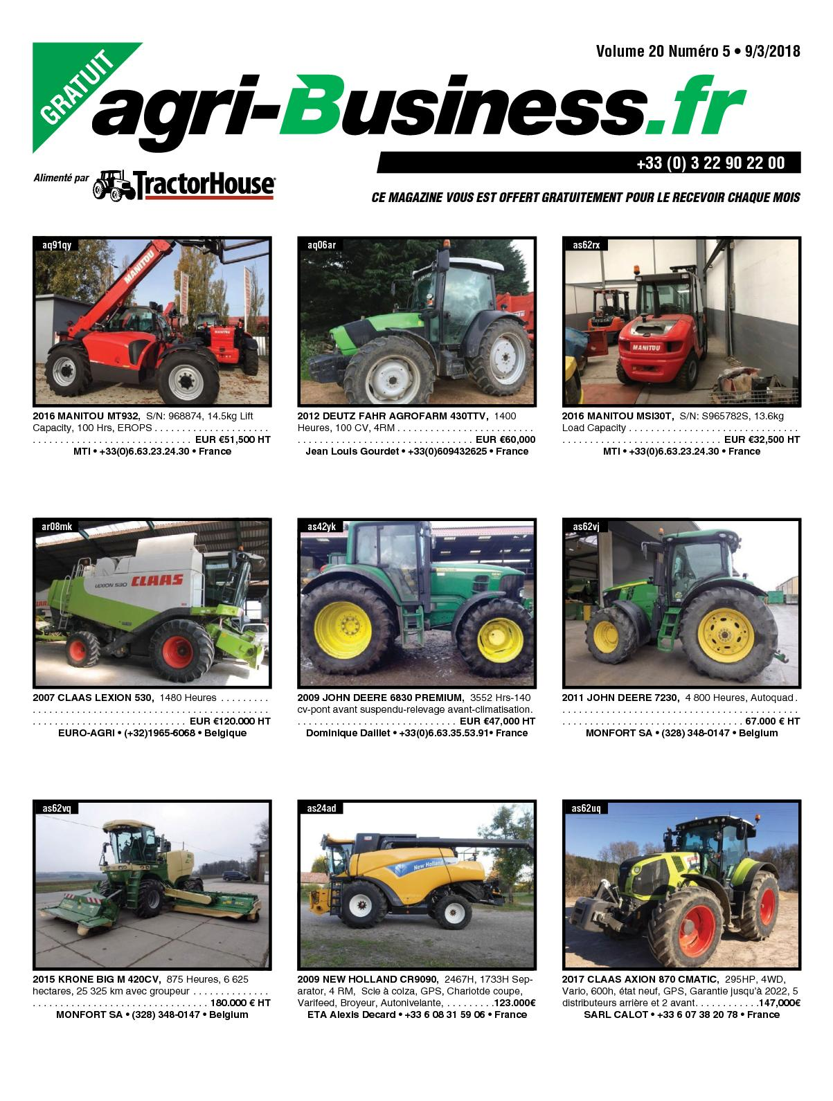 Calamo agri business volume 20 numro 05 09032018 fandeluxe Image collections