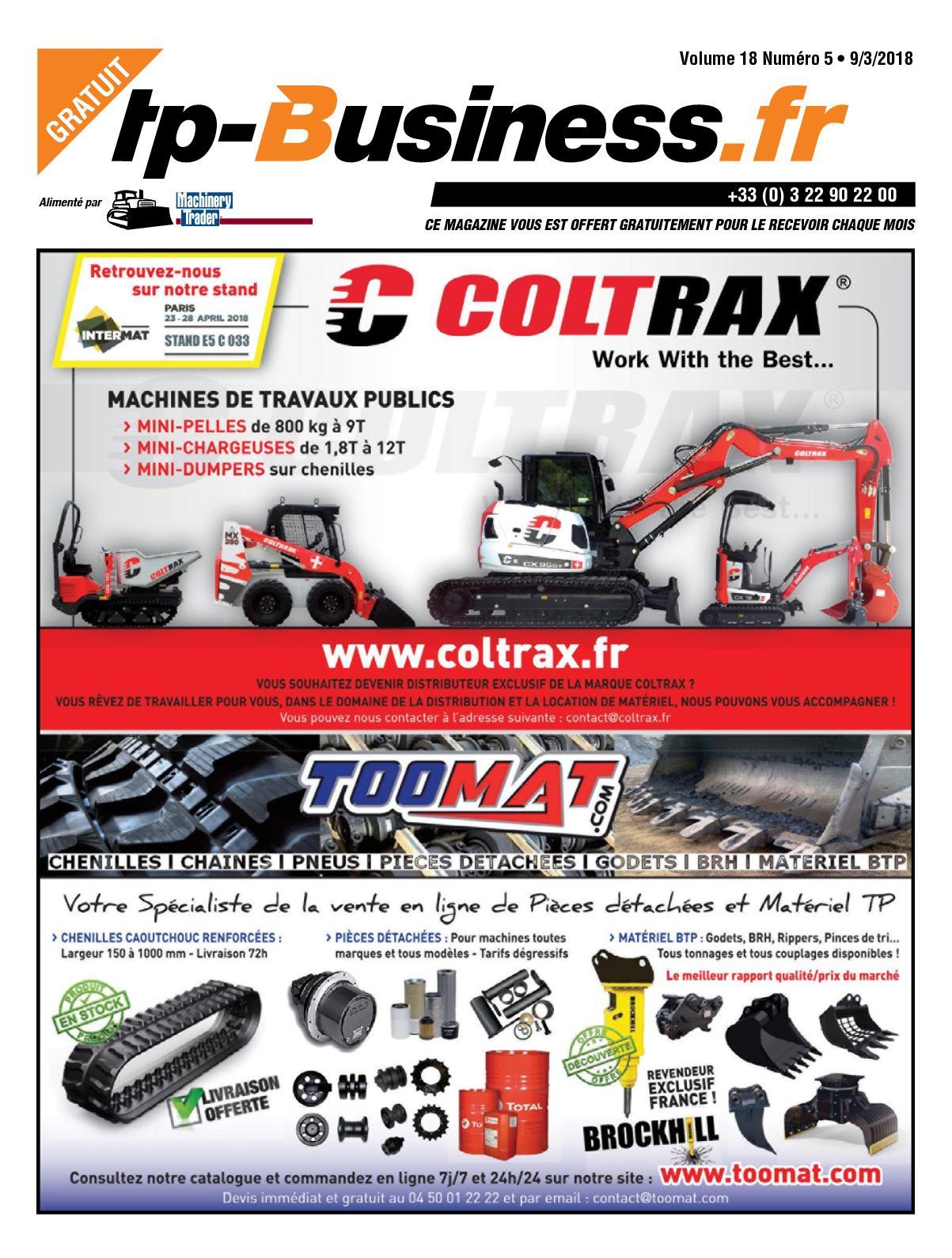 Calaméo - TP BUSINESS VOLUME 18 NUMÉRO 05 • 09/03/2018