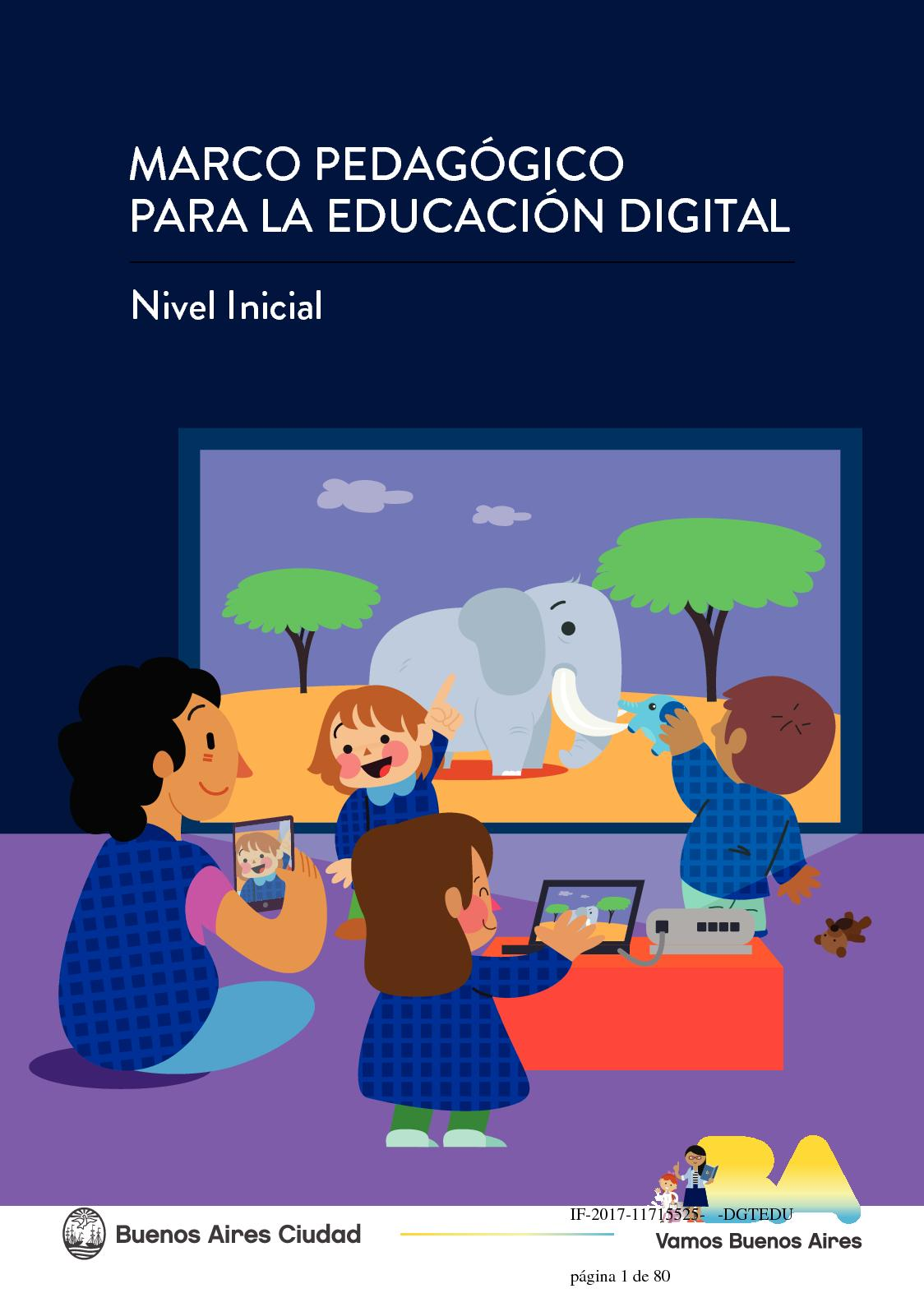 Calaméo - Marco Pedagógico para la Educación Digital en el Nivel Inicial