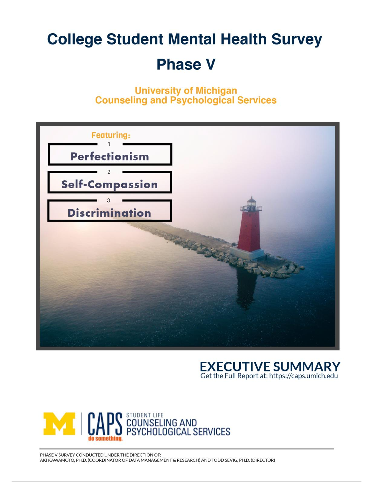 College Student Mental Health Survey: Phase V