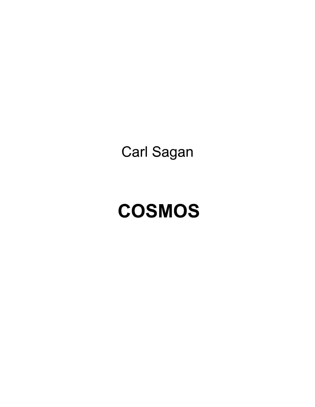 Calaméo - Carl Sagan Cosmos