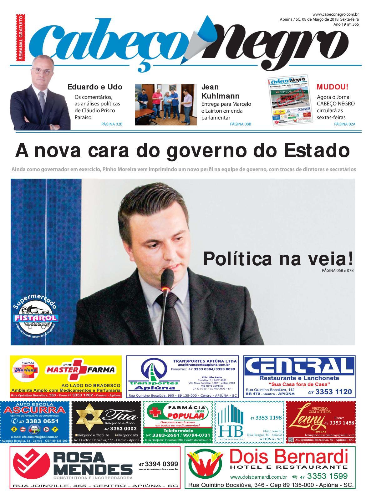 EDIÇÃO 366 09MAR2018