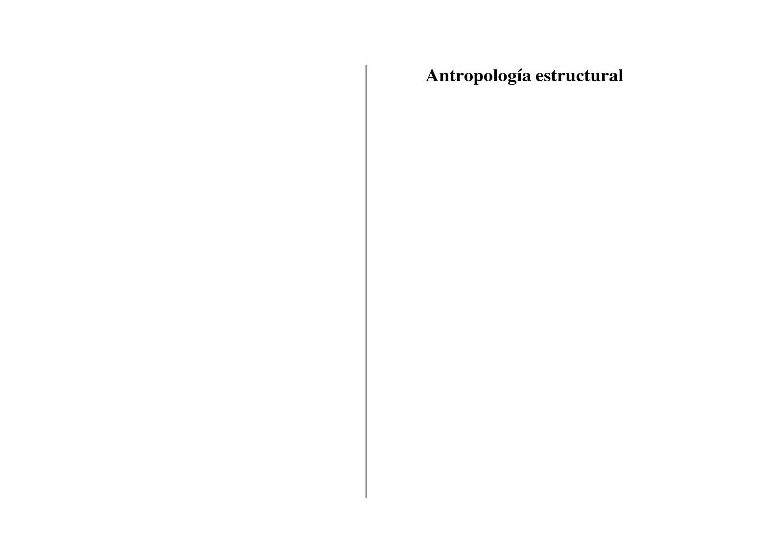 Calaméo - Antropologia Estructural