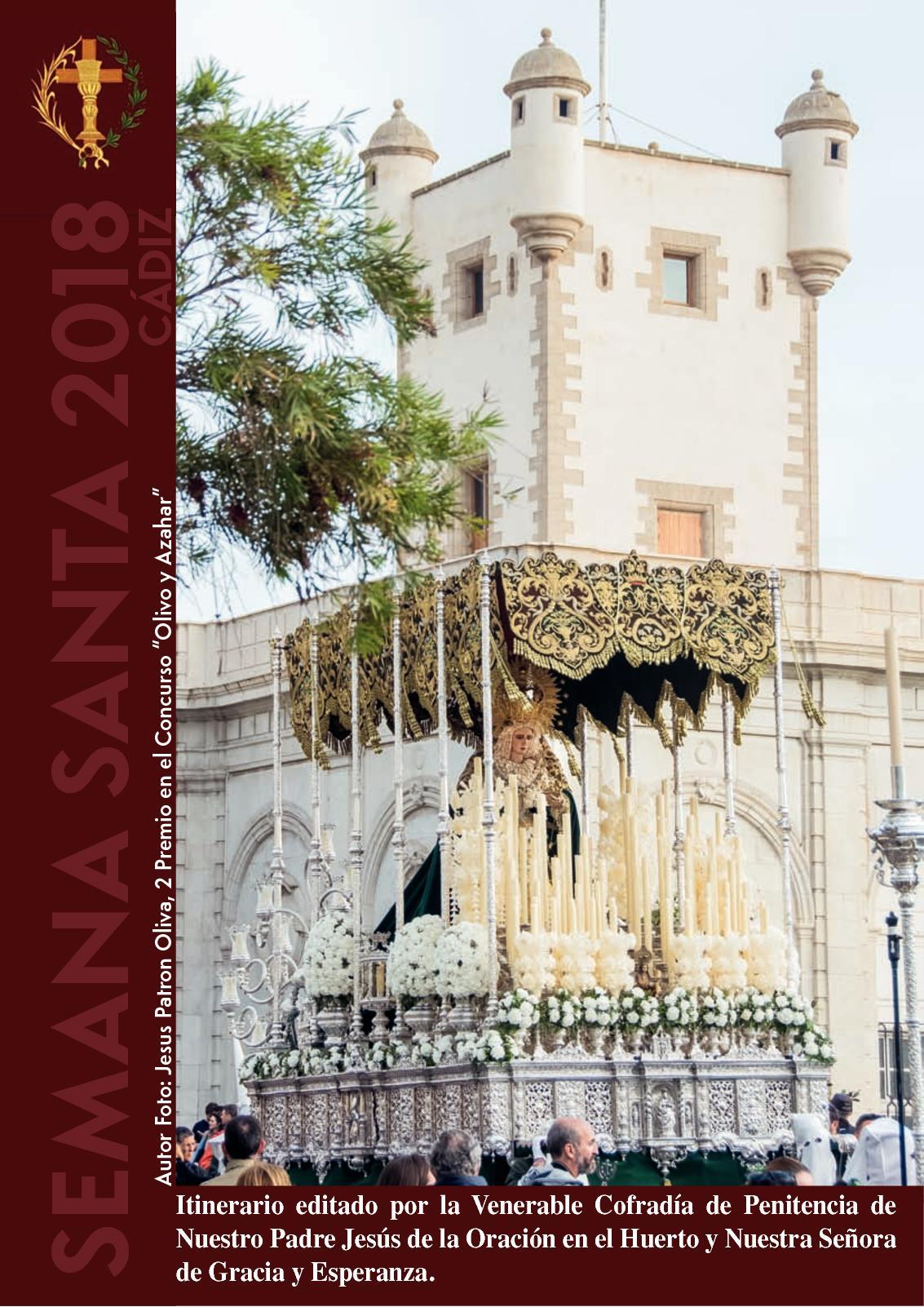 Itinerario Oracion En El Huerto