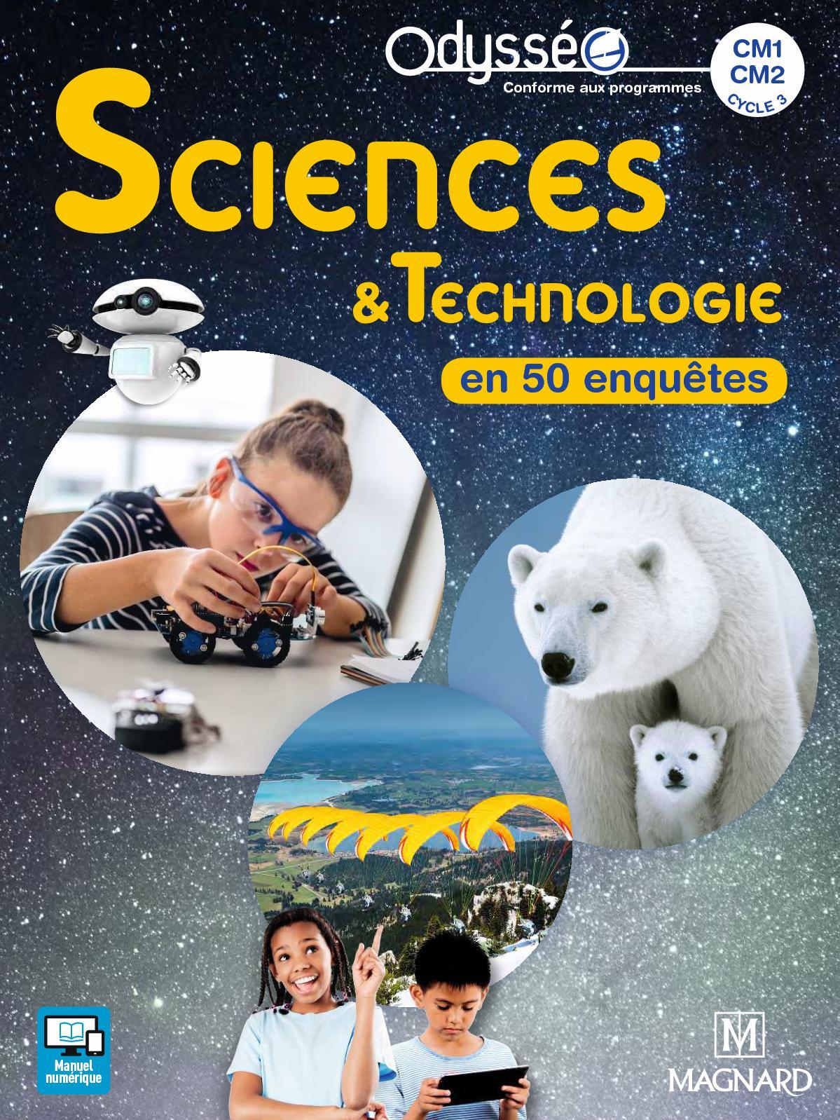 Extrait Odysséo Sciences CM1-CM2