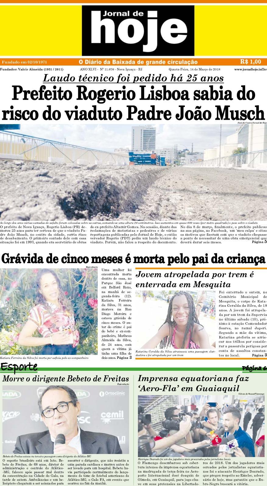 Jornal De Hoje 140318