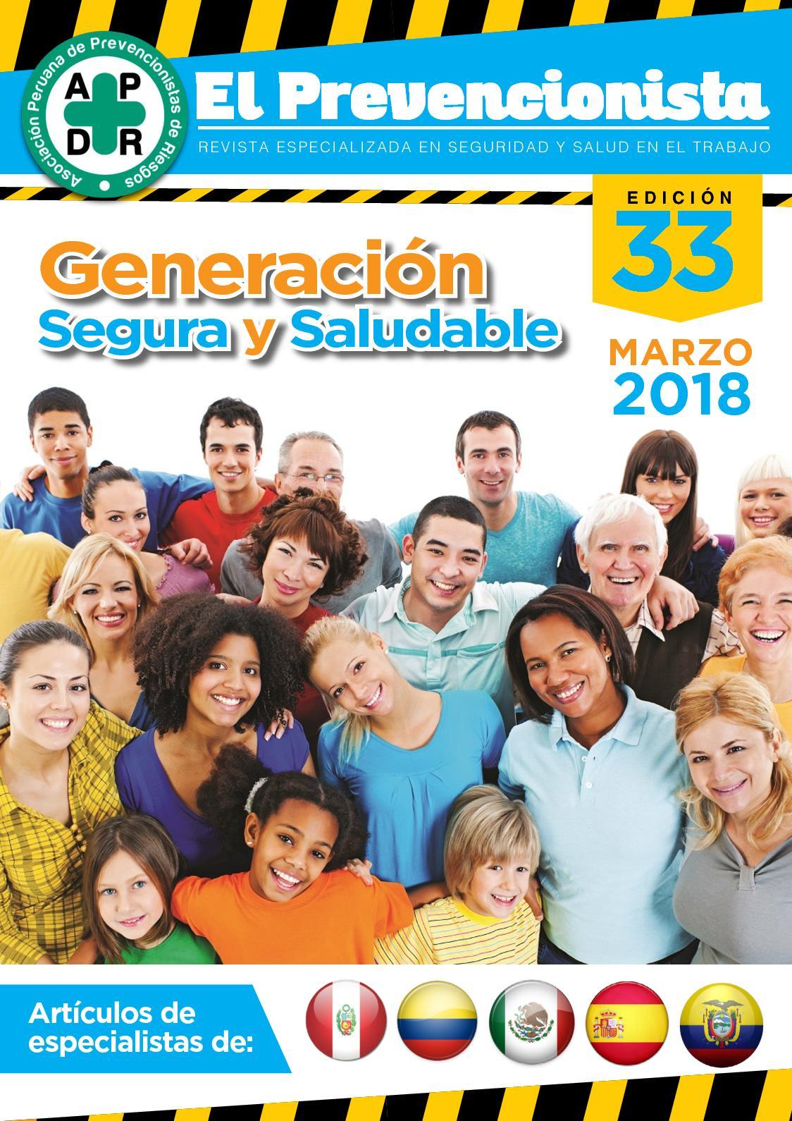 Revista El Prevencionista 33ava edición