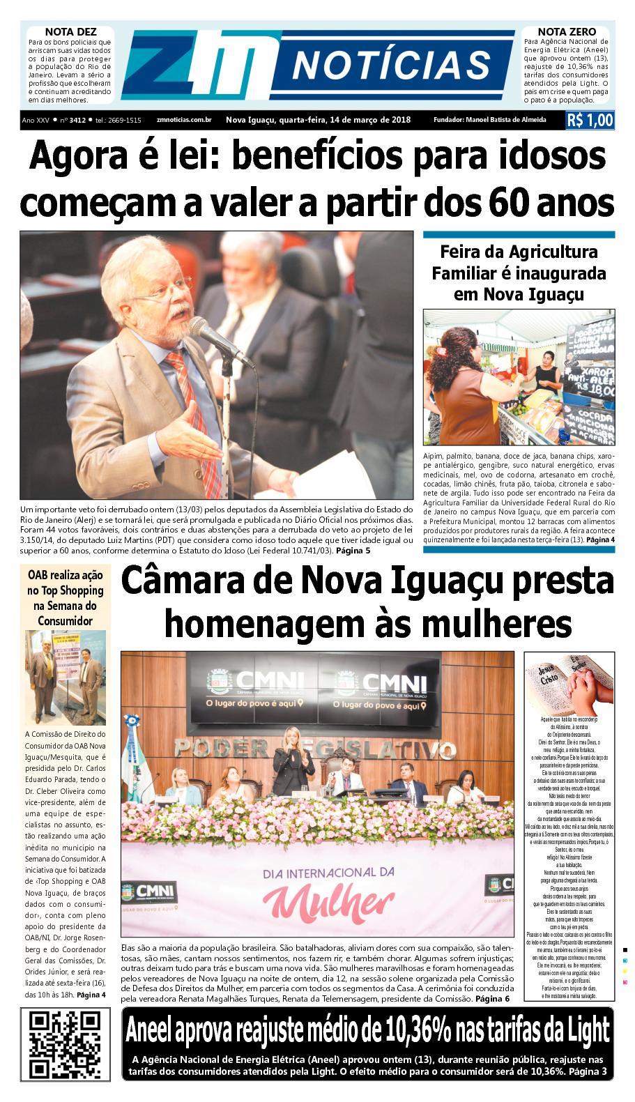 ZM Noticias - Edição 140318