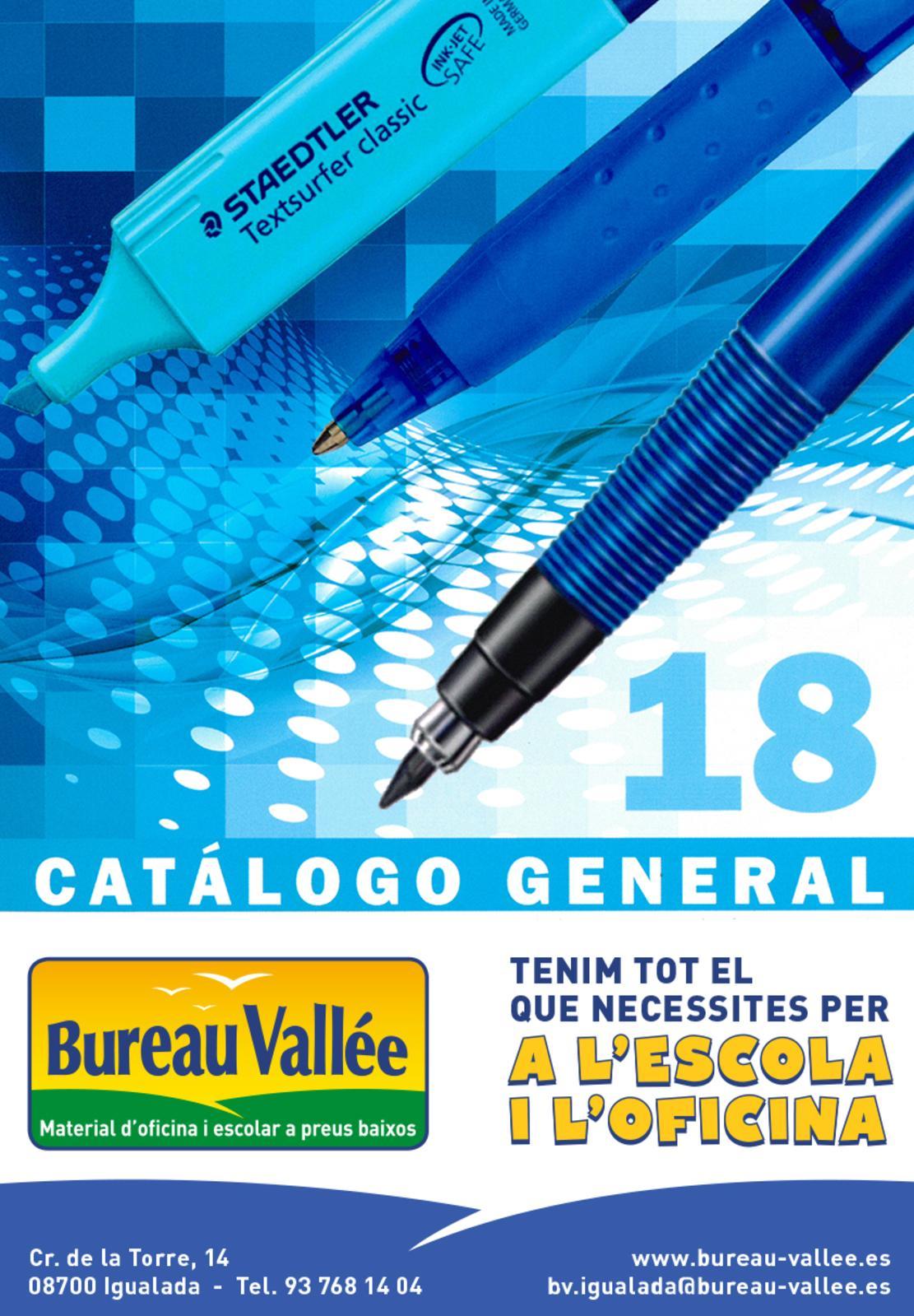 Calaméo - Cataleg 2018 Bureau Vallee