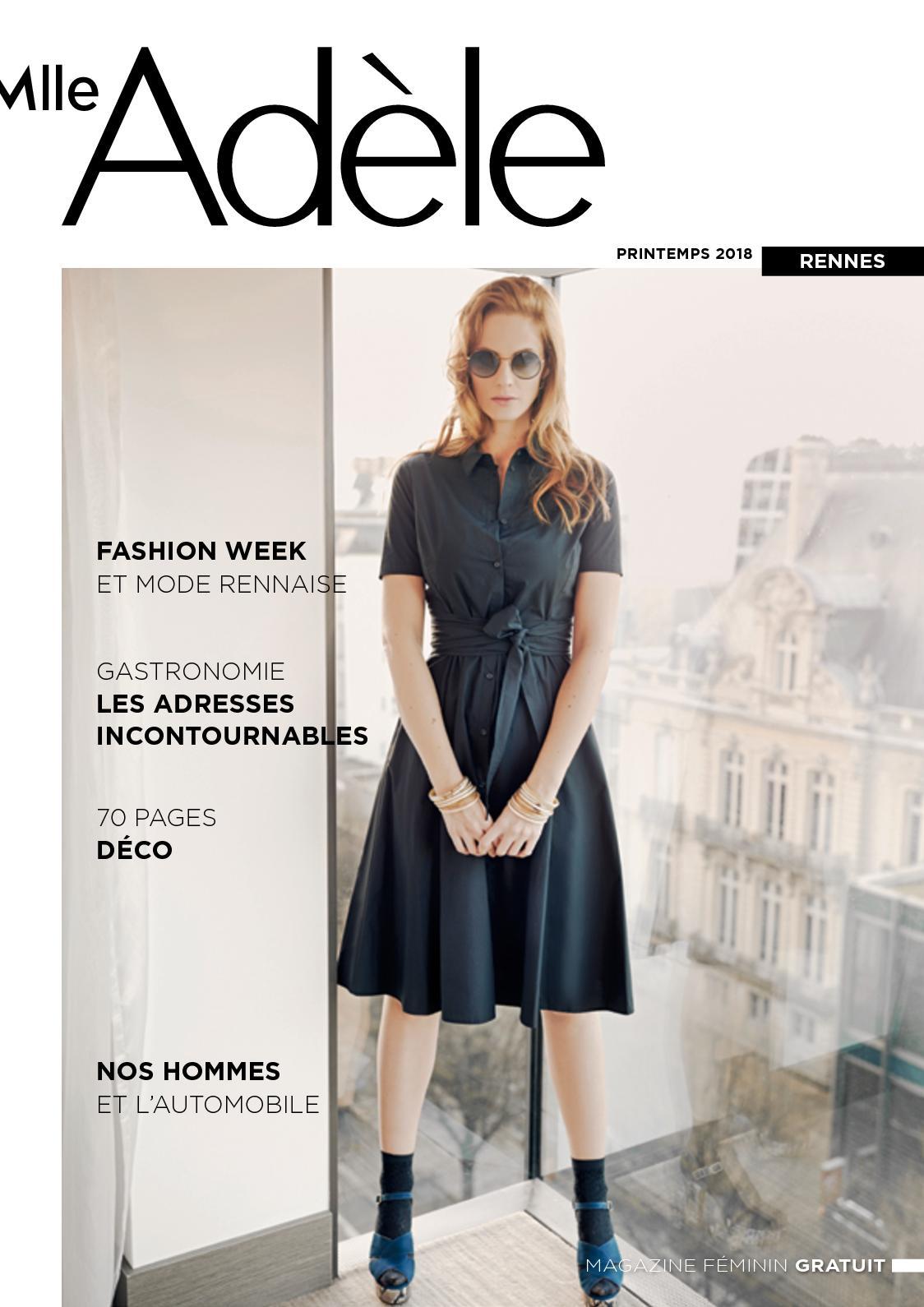 e7914fd8113d49 Calaméo - Magazine Mlle Adèle Rennes N°18