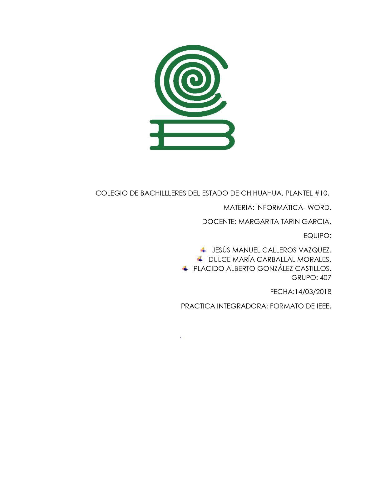 Calaméo - Proyecto Info